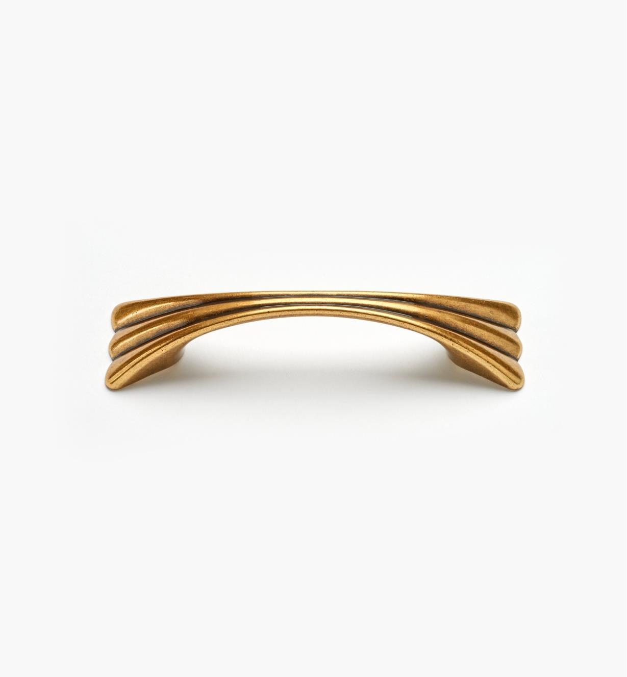 00A7135 - Poignée de 96mm (5 3/8 po), série Alessia, fini bronze bruni