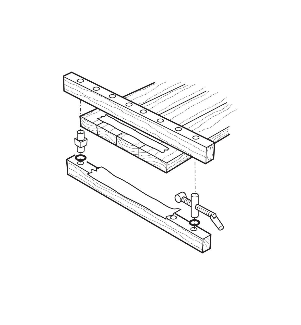 05G1601 - Serre-joint pour panneaux