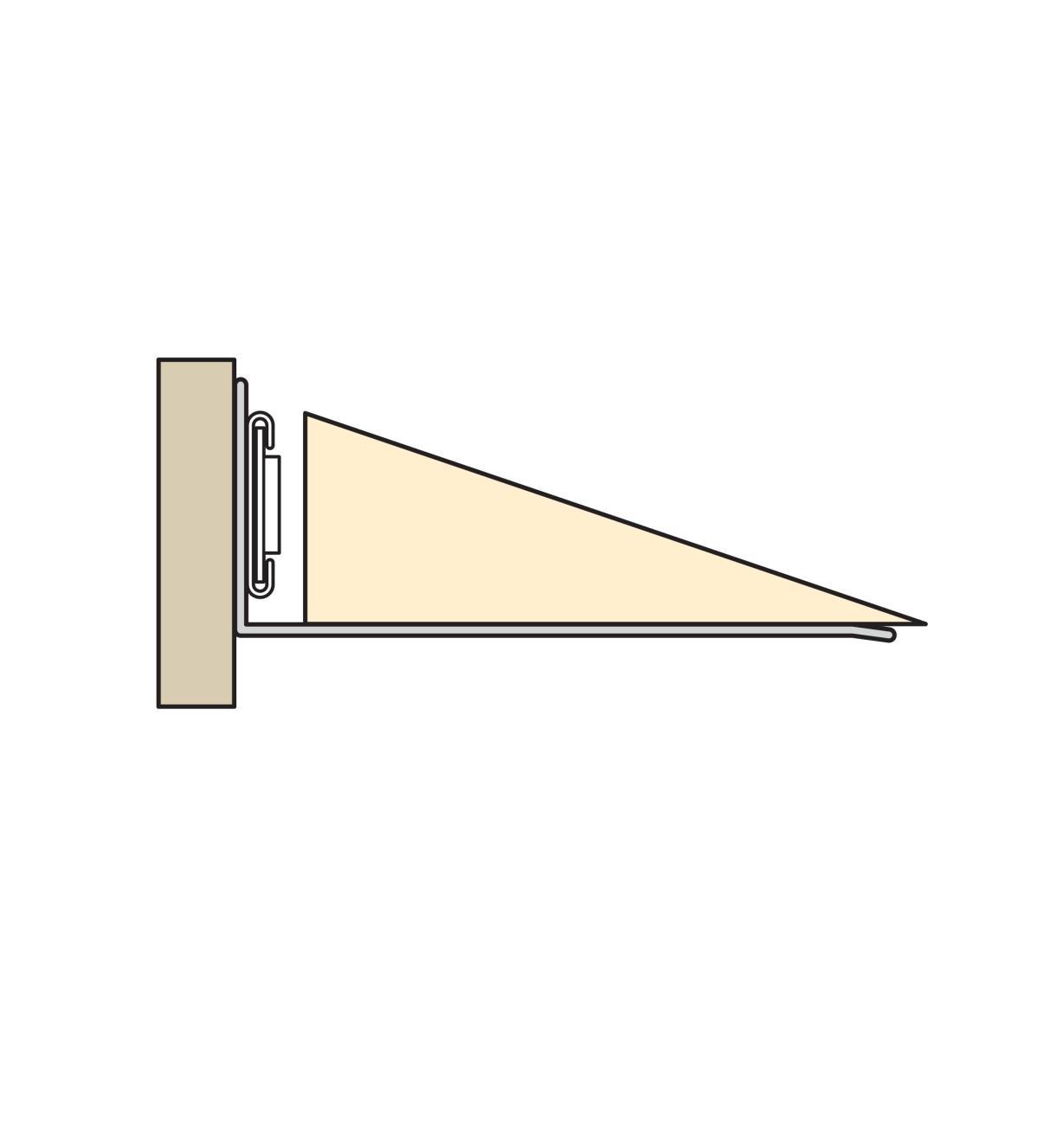 17K1540 - L-Bracket/Support