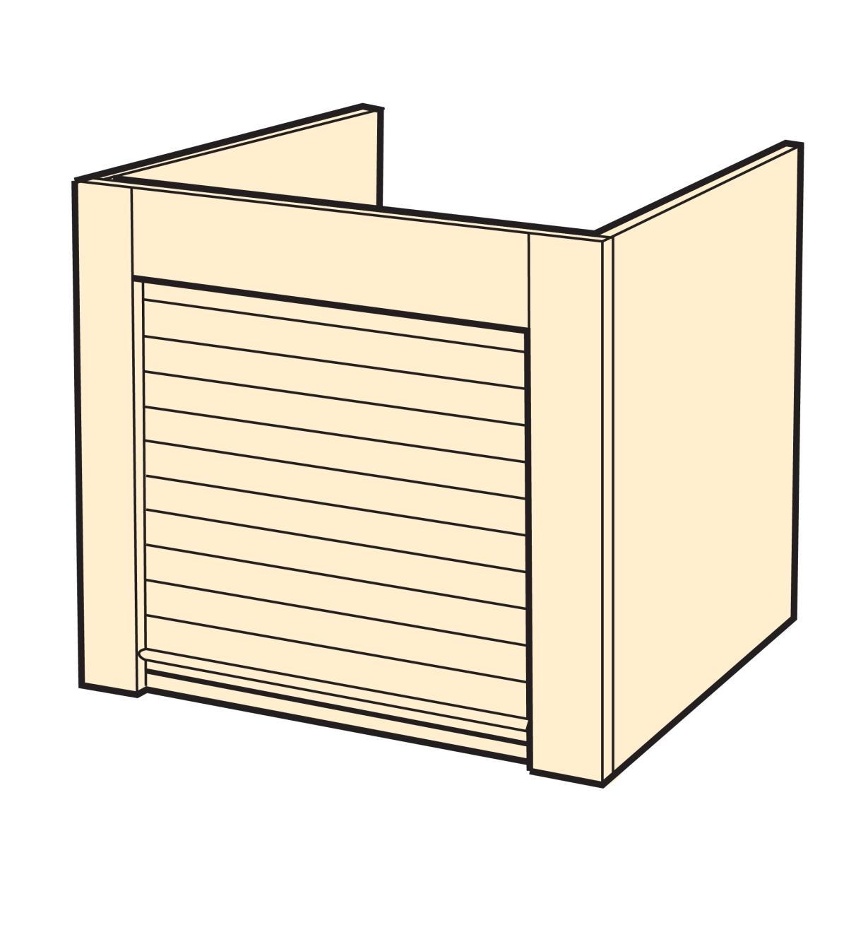 Tambour Door Kit