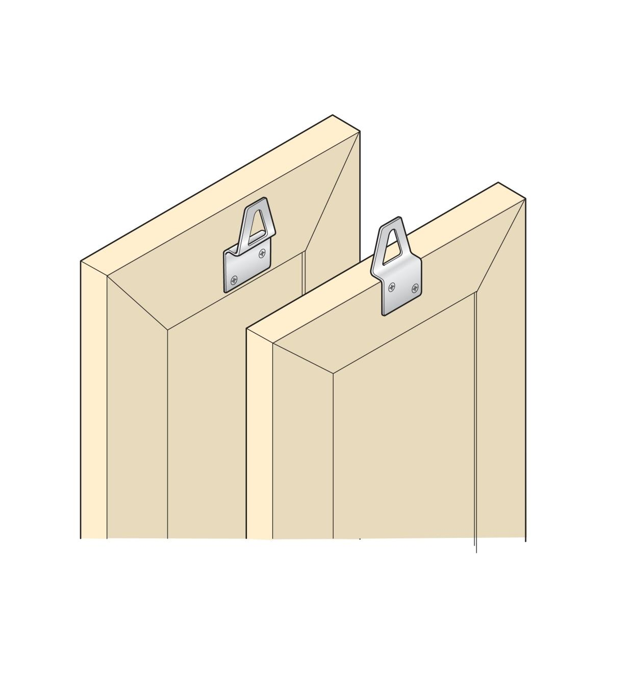 Stainless-Steel Frame Hangers