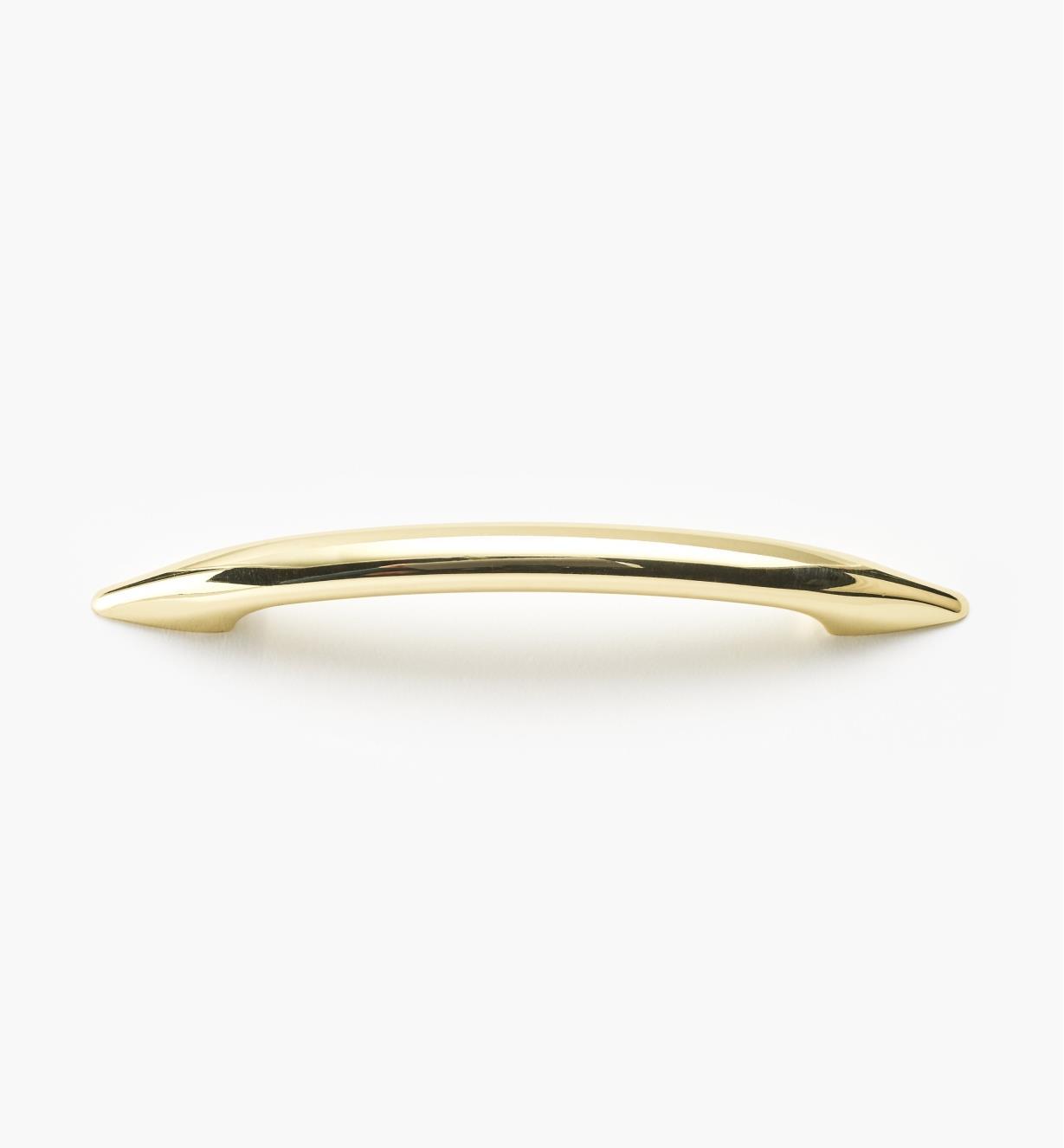 00W3115 - 96mm Brass Plate Classic Pull