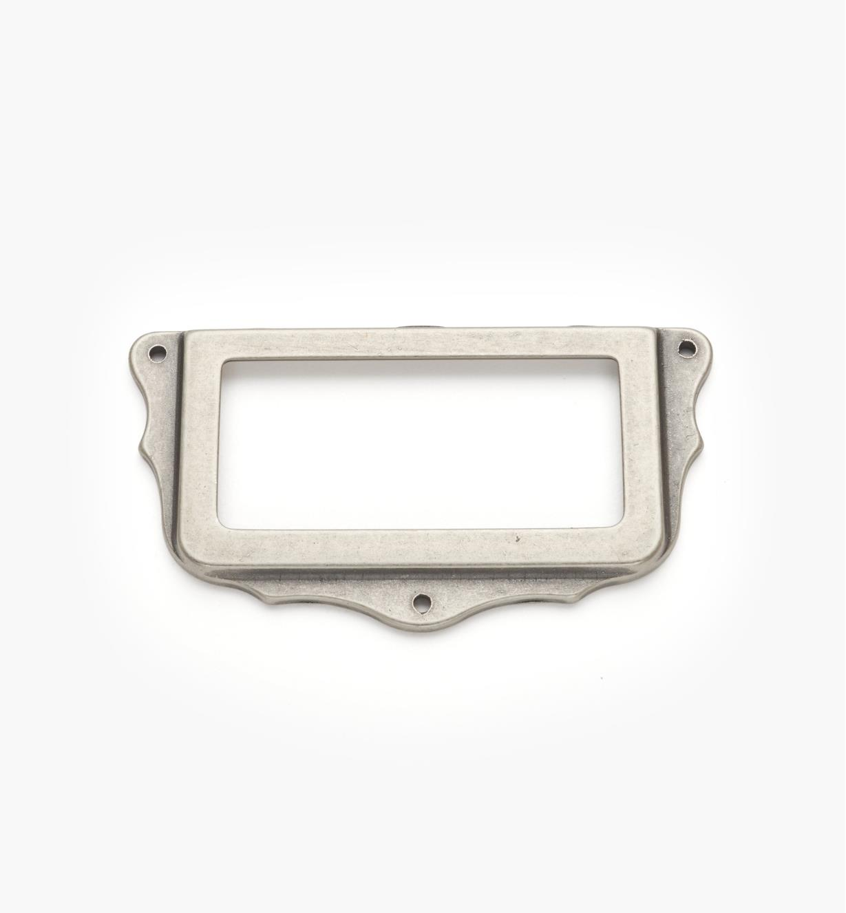 01A5764 - Pewter Card Frame