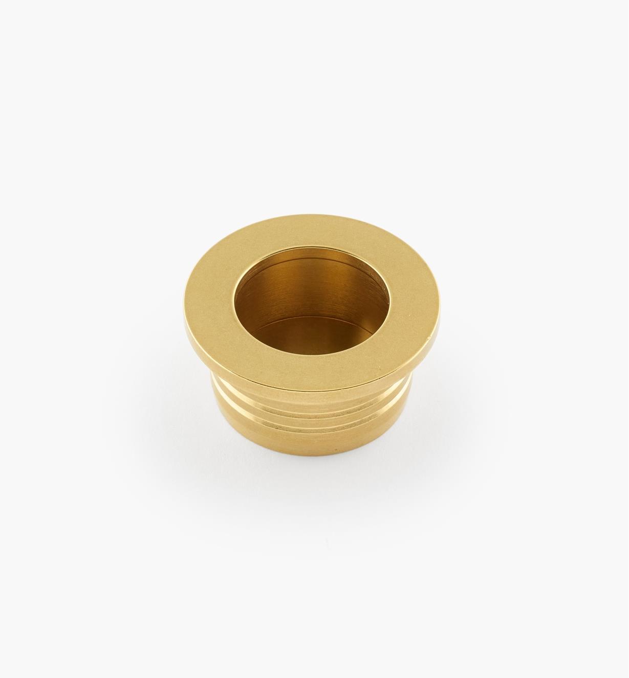 """01B1608 - 1 1/4"""" Round Recessed Pull"""
