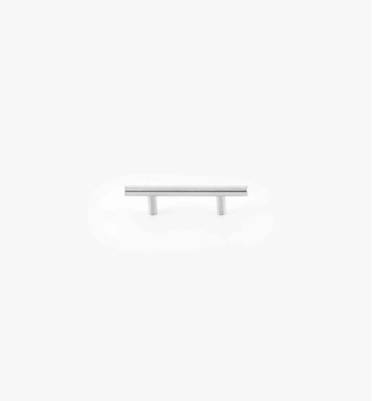 02A1470 - Bar Stainless Steel 76mm (137mm) Pull, each