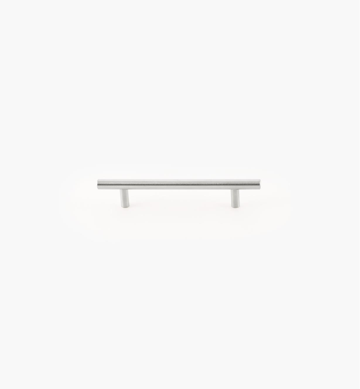 02A1472 - Poignée-barreau, 128mm (187mm), acier inoxydable, l'unité