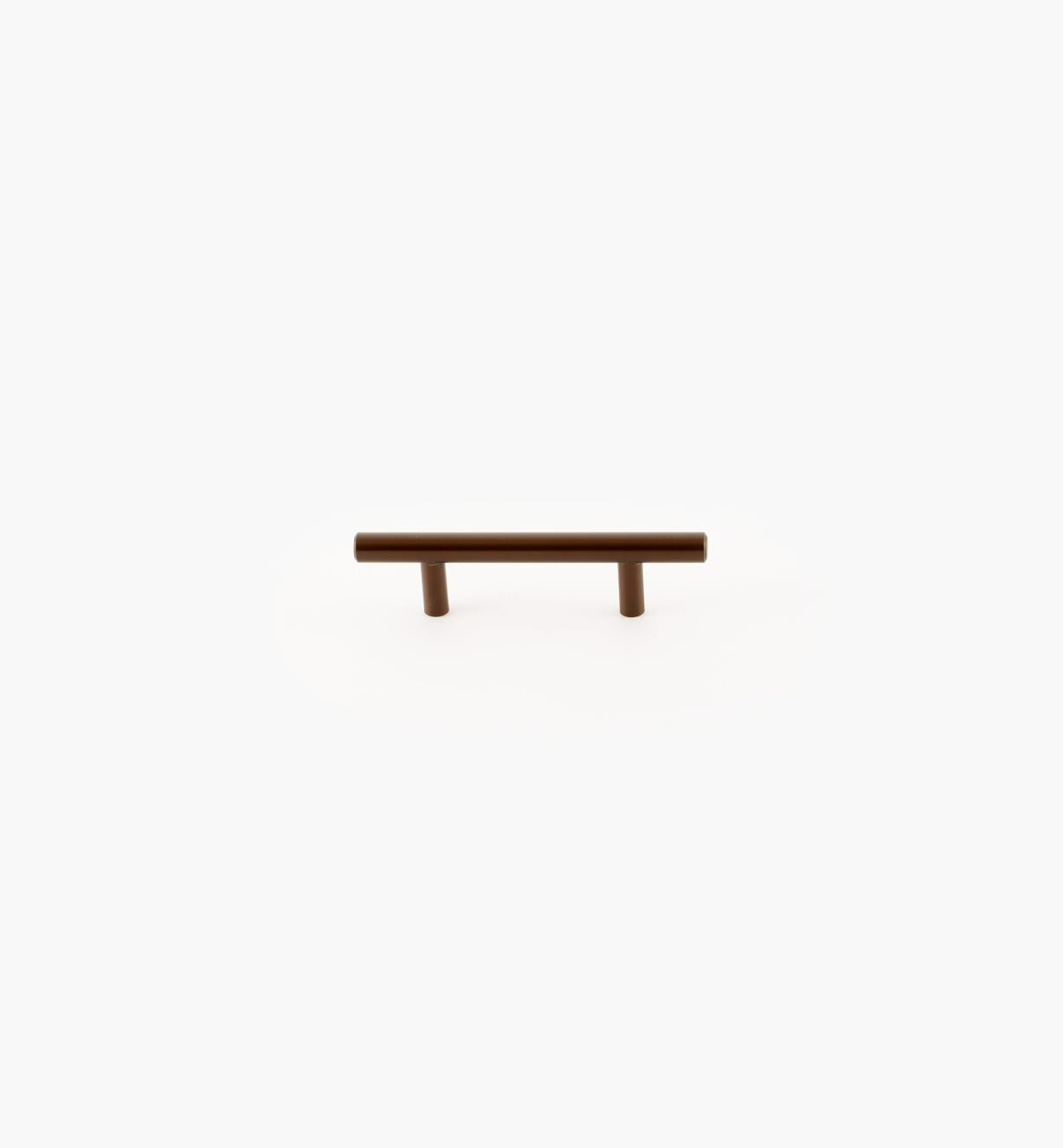 02A1475 - Bar Caramel Bronze 76mm (137mm) Pull, each