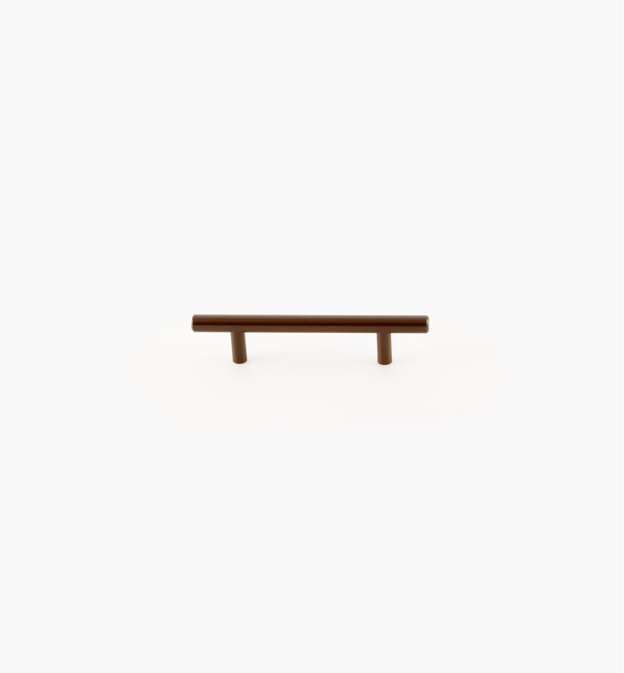 02A1476 - Bar Caramel Bronze 96mm (156mm) Pull, each