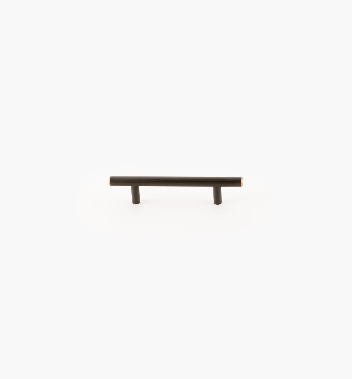02A1486 - Bar Oil-Rubbed Bronze 96mm (156mm) Pull, each