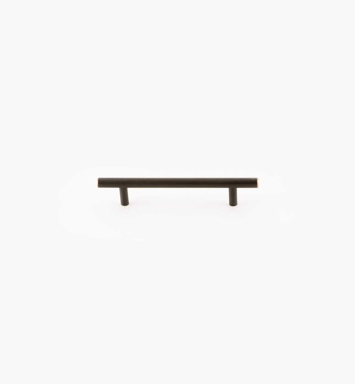 02A1487 - Bar Oil-Rubbed Bronze 128mm (187mm) Pull, each