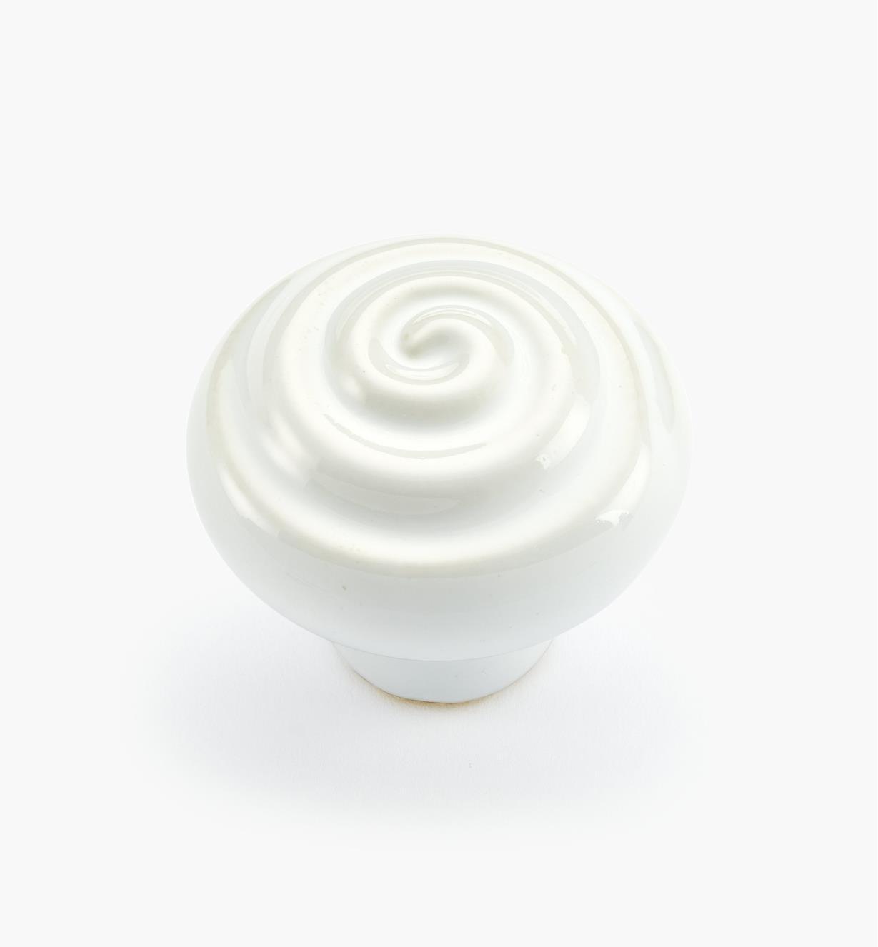 """02W2901 - 1 3/8"""" x 1 1/8"""" Harmony Swirl Knob"""