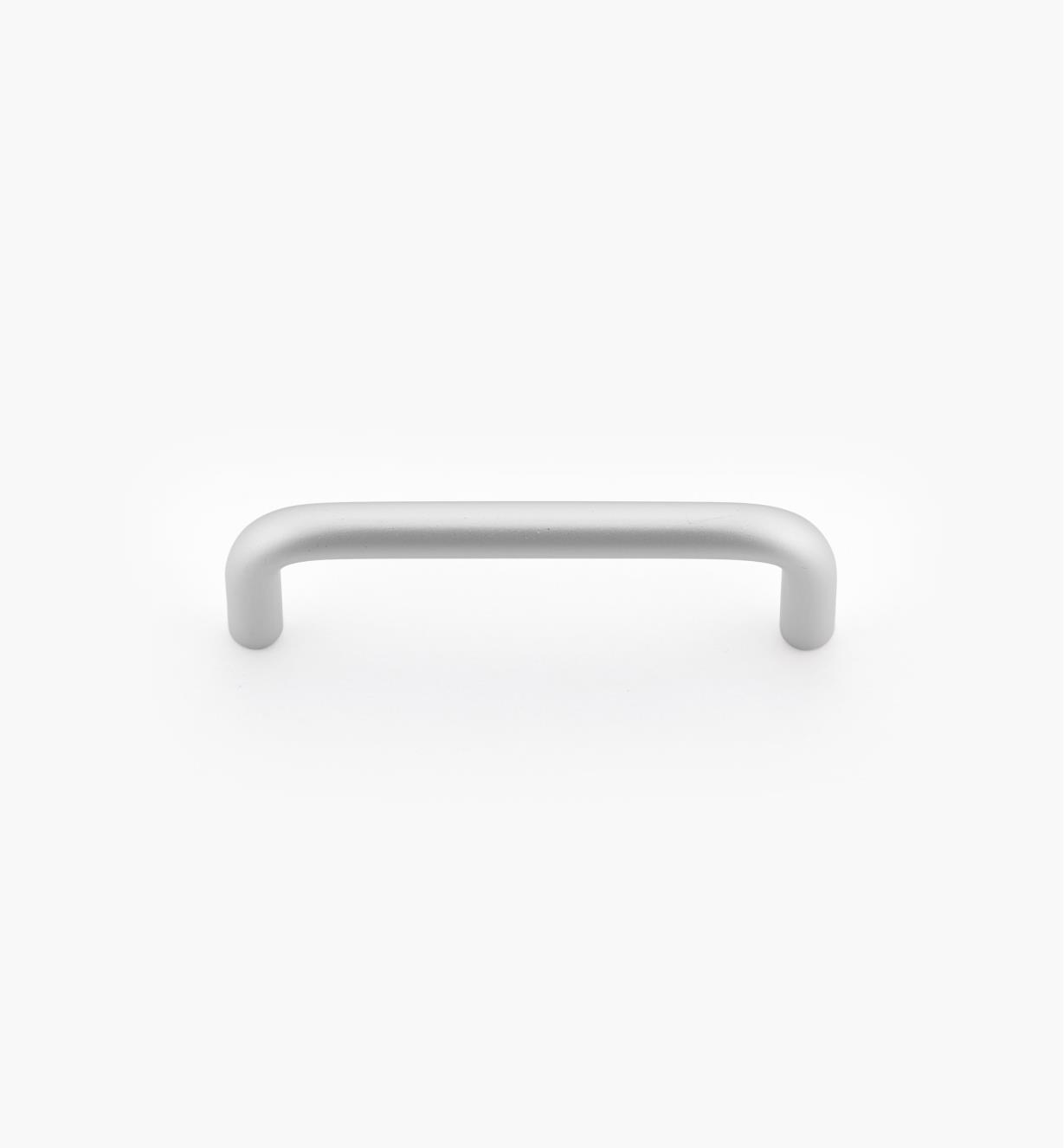 01W7601 - Poignée-fil moderne, aluminium satiné, 3po