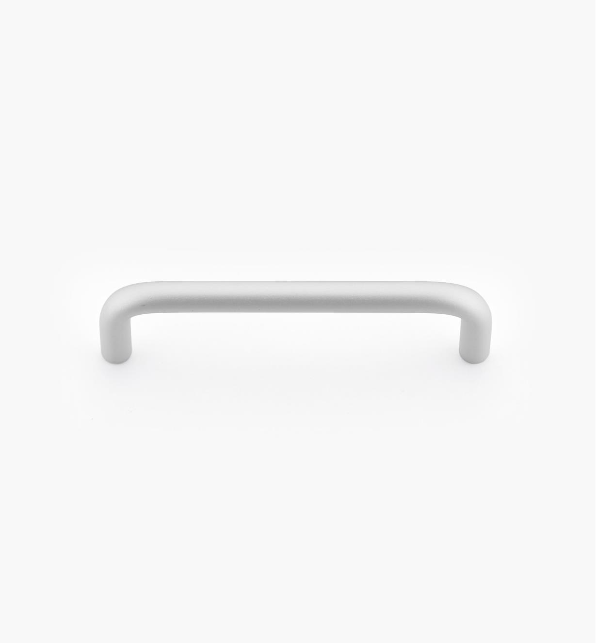01W7602 - Poignée-fil moderne, aluminium satiné, 31/2po
