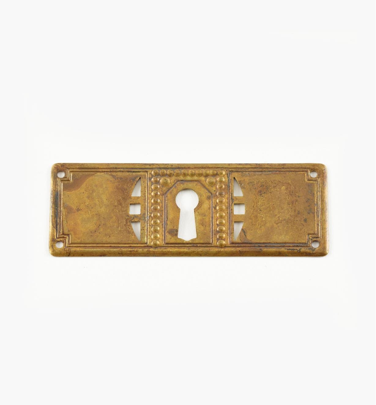 01A5250 - Entrée de serrure horizontale de 3 7/8 po x 1 5/16 po