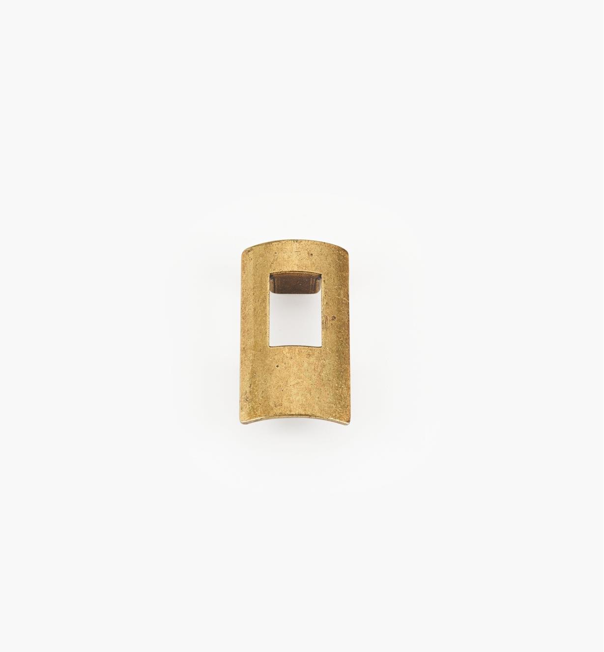 01G1921 - 32mm x 60mm Antique Brass Portal Pull