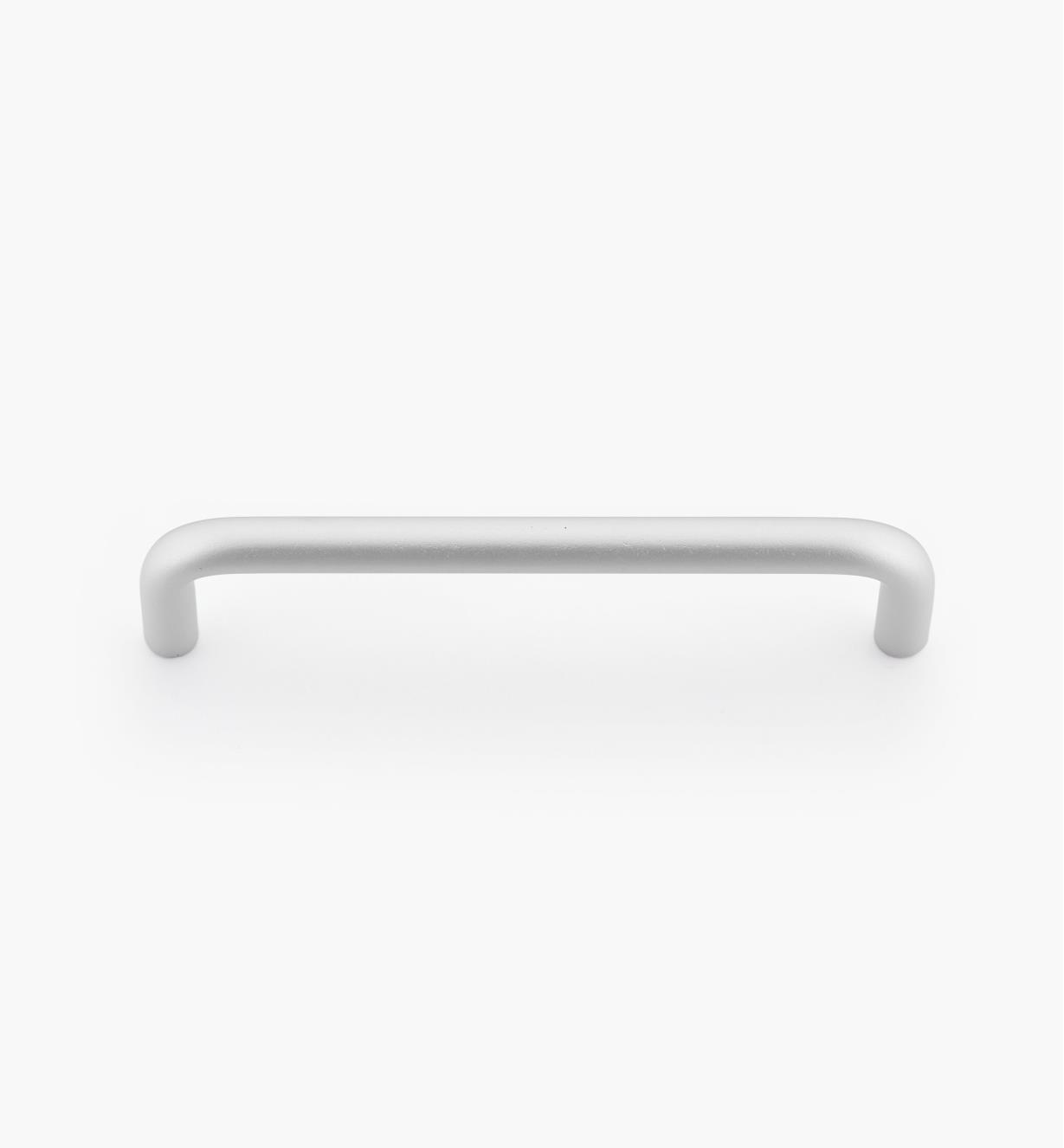 01W7604 - Poignée-fil moderne, aluminium satiné, 4po