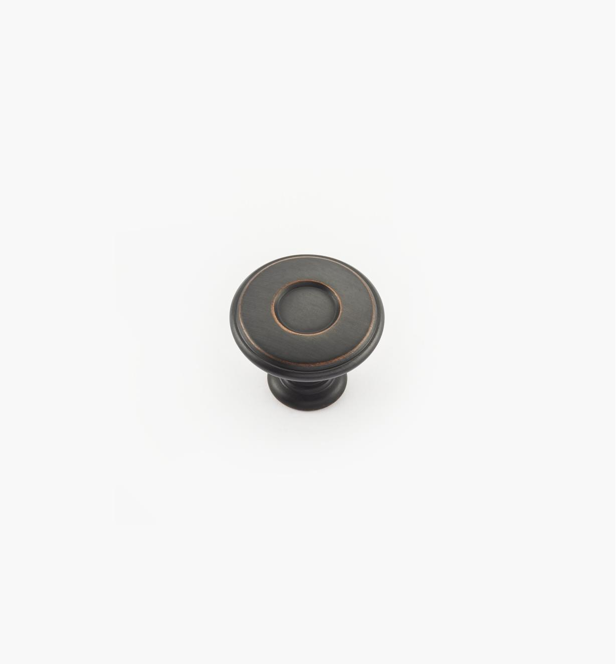 02A4341 - Porter Oil-Rubbed Bronze Round Knob