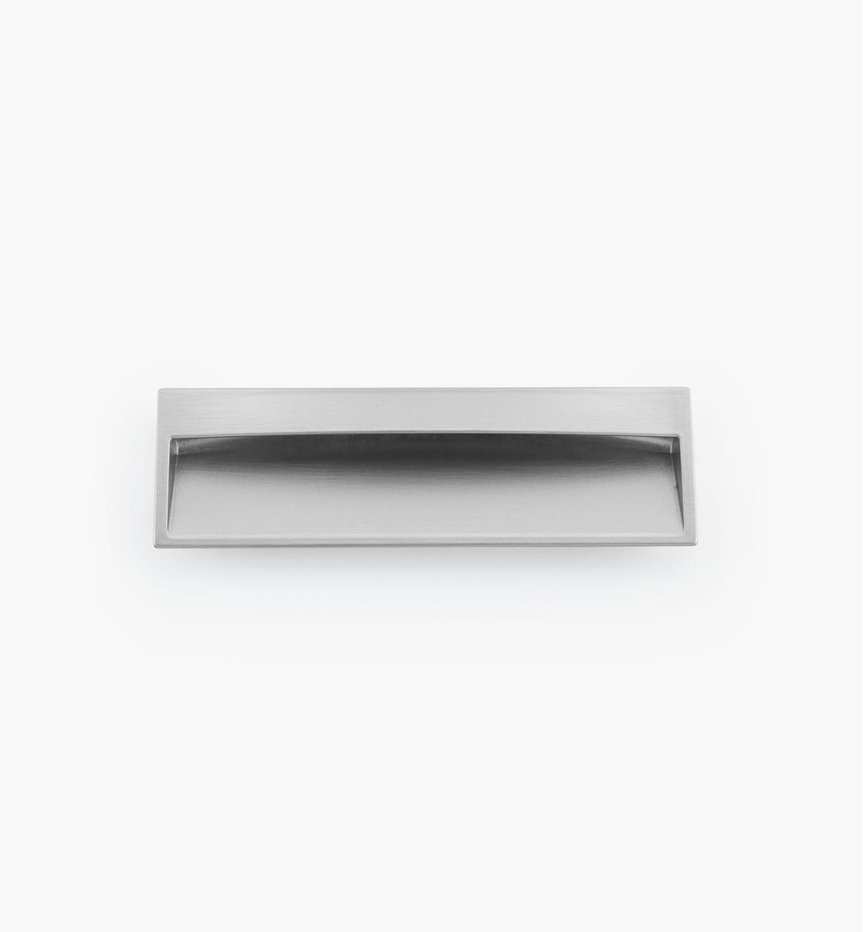 02W3961 - Dark Brown Recess Pull, 170mm x 52mm