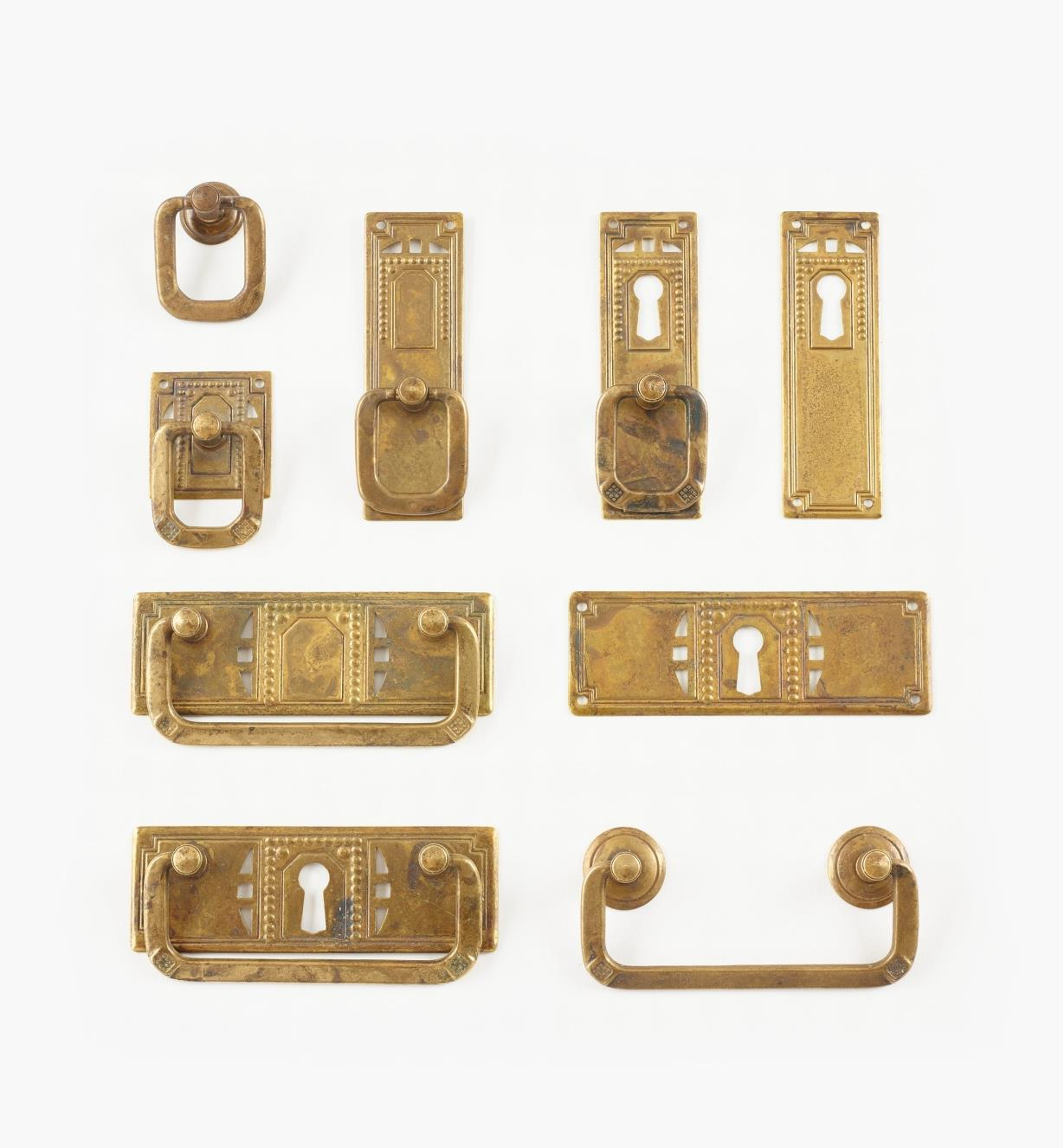 Pierced Rectangular Plate Hardware