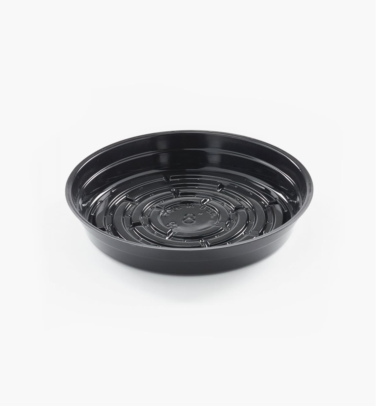 EA826 - Sous-pot classique noir, 8po