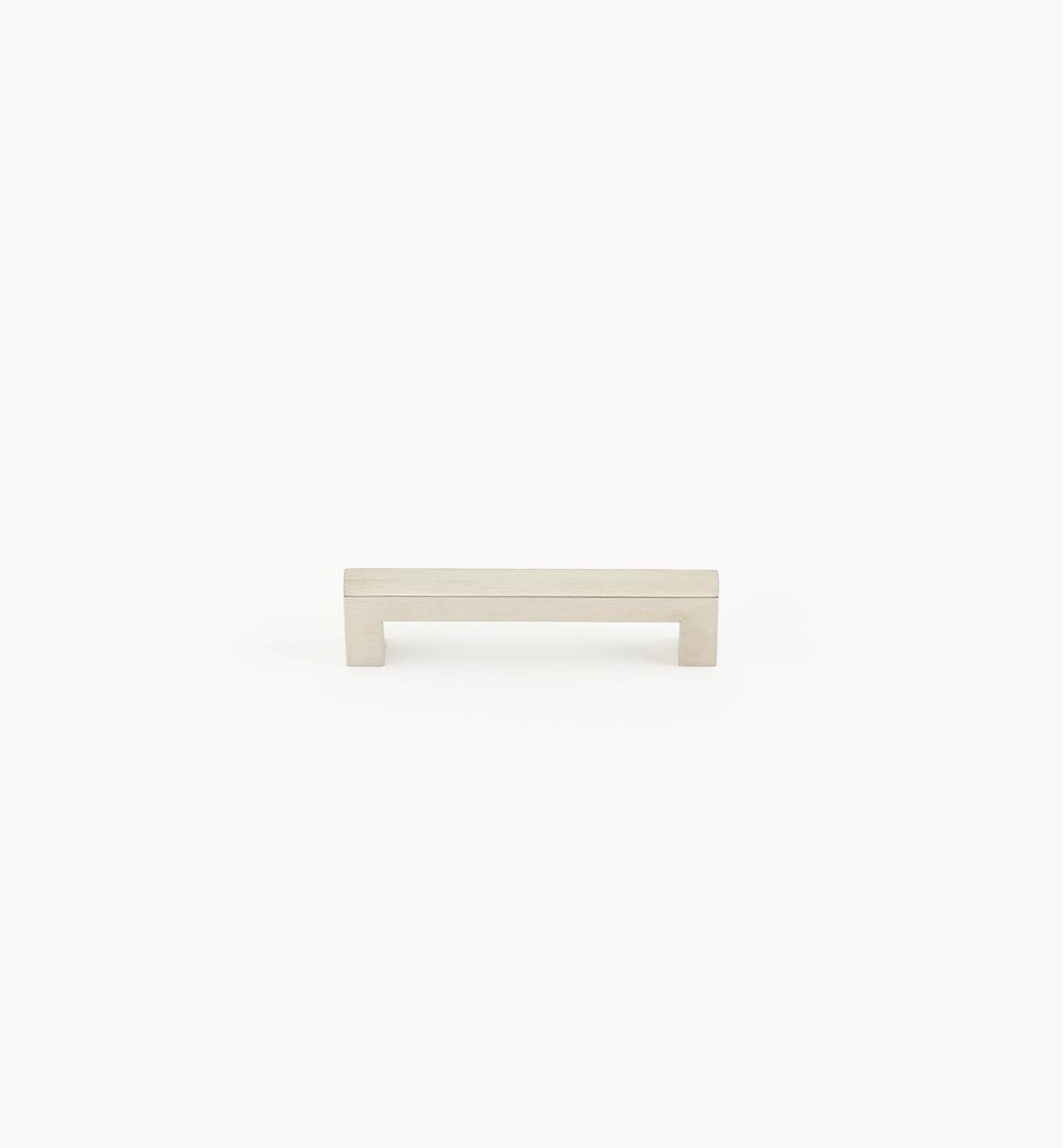 01W8012 - Poignée-tube carrée en acier inoxydable, 128mm