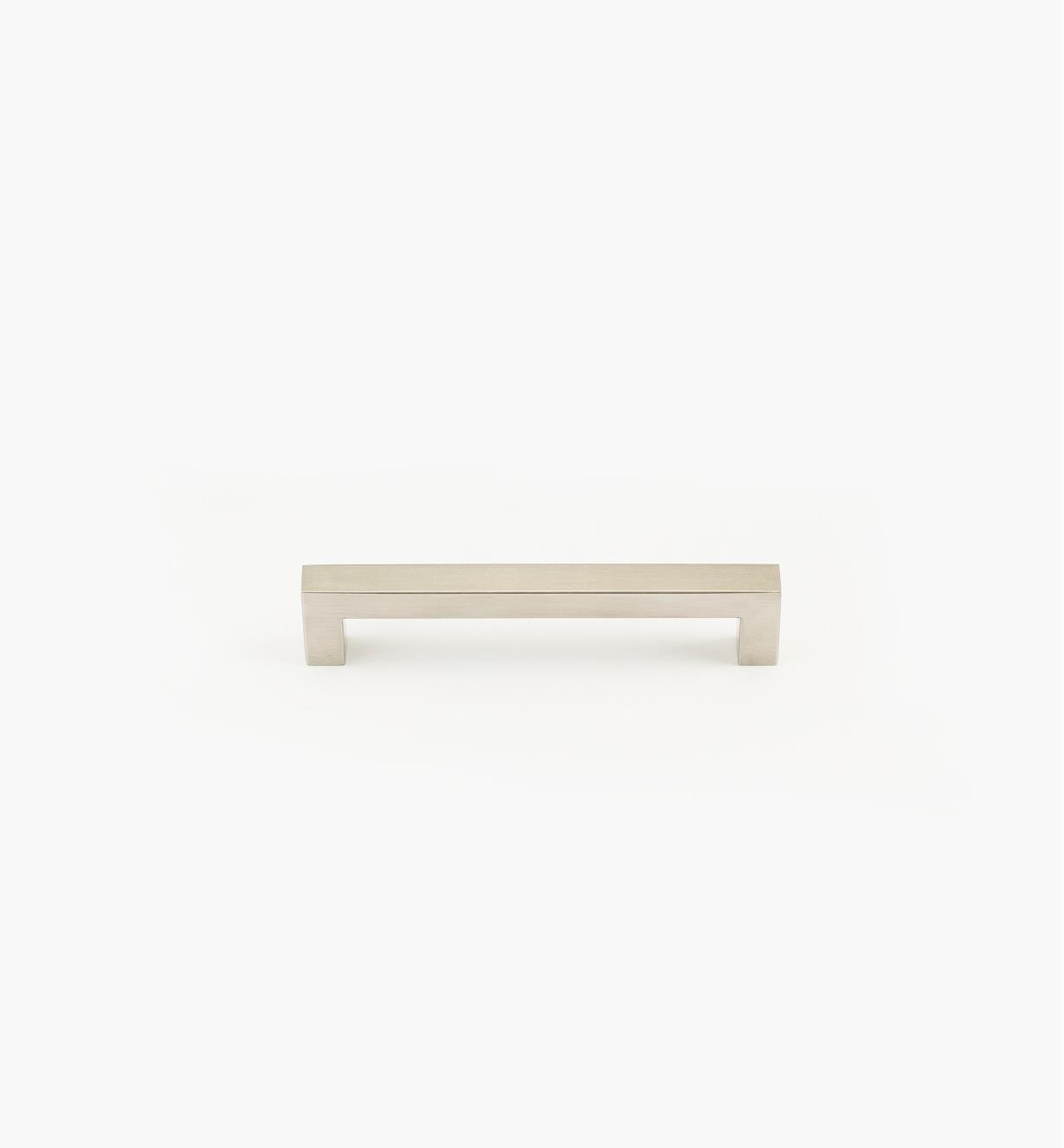 01W8013 - Poignée-tube carrée en acier inoxydable, 160mm
