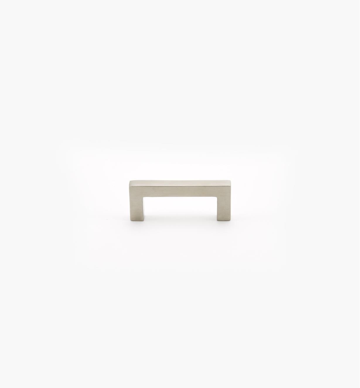 01W8410 - Poignée carrée en acier inoxydable, 64 mm