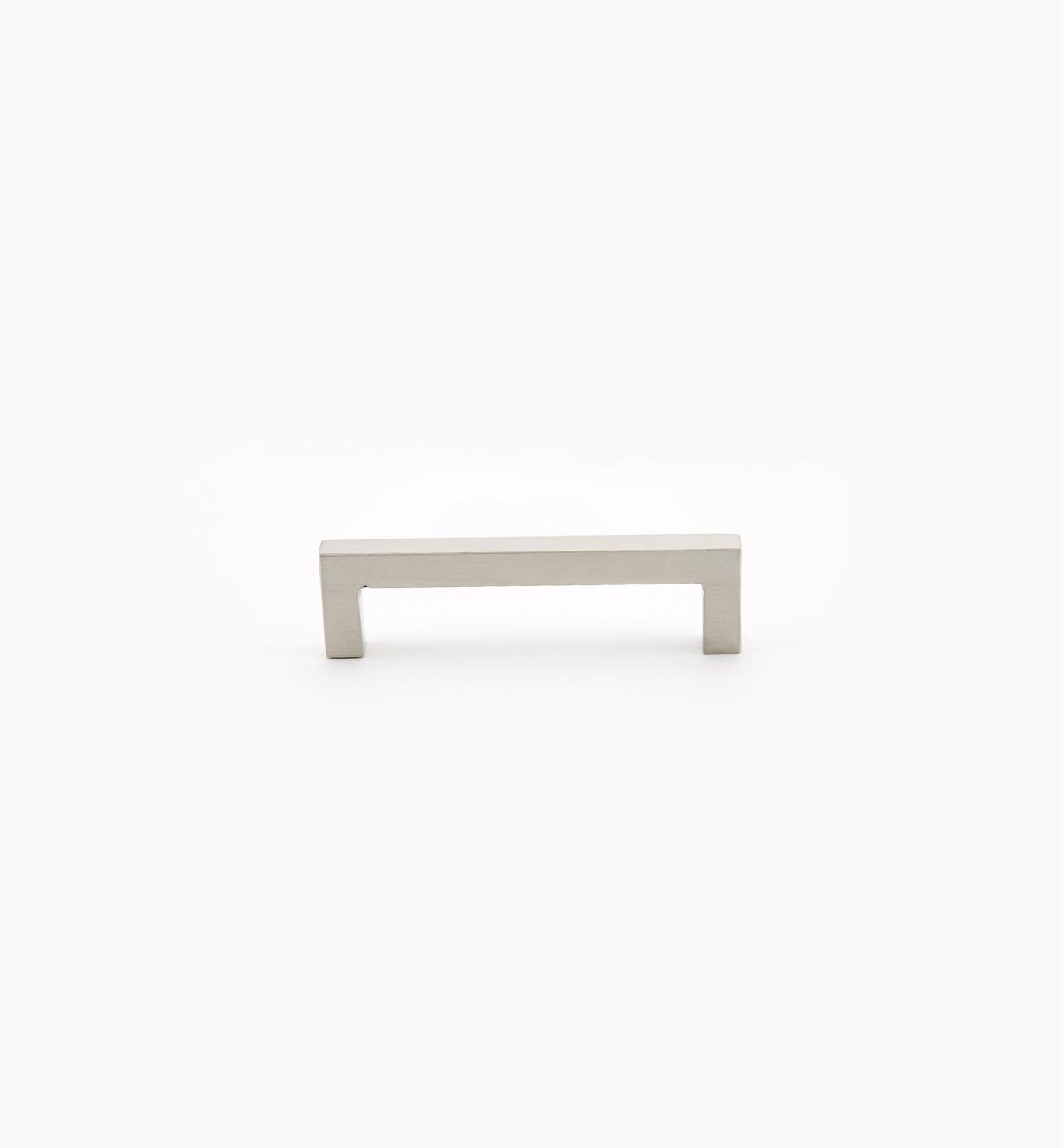 01W8411 - Poignée carrée en acier inoxydable, 96mm
