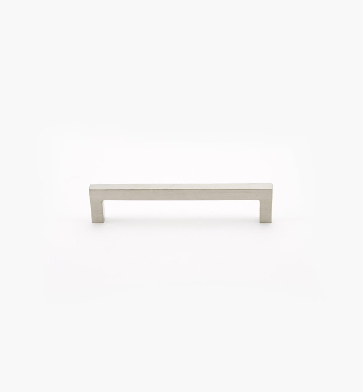 01W8412 - Poignée carrée en acier inoxydable, 128mm