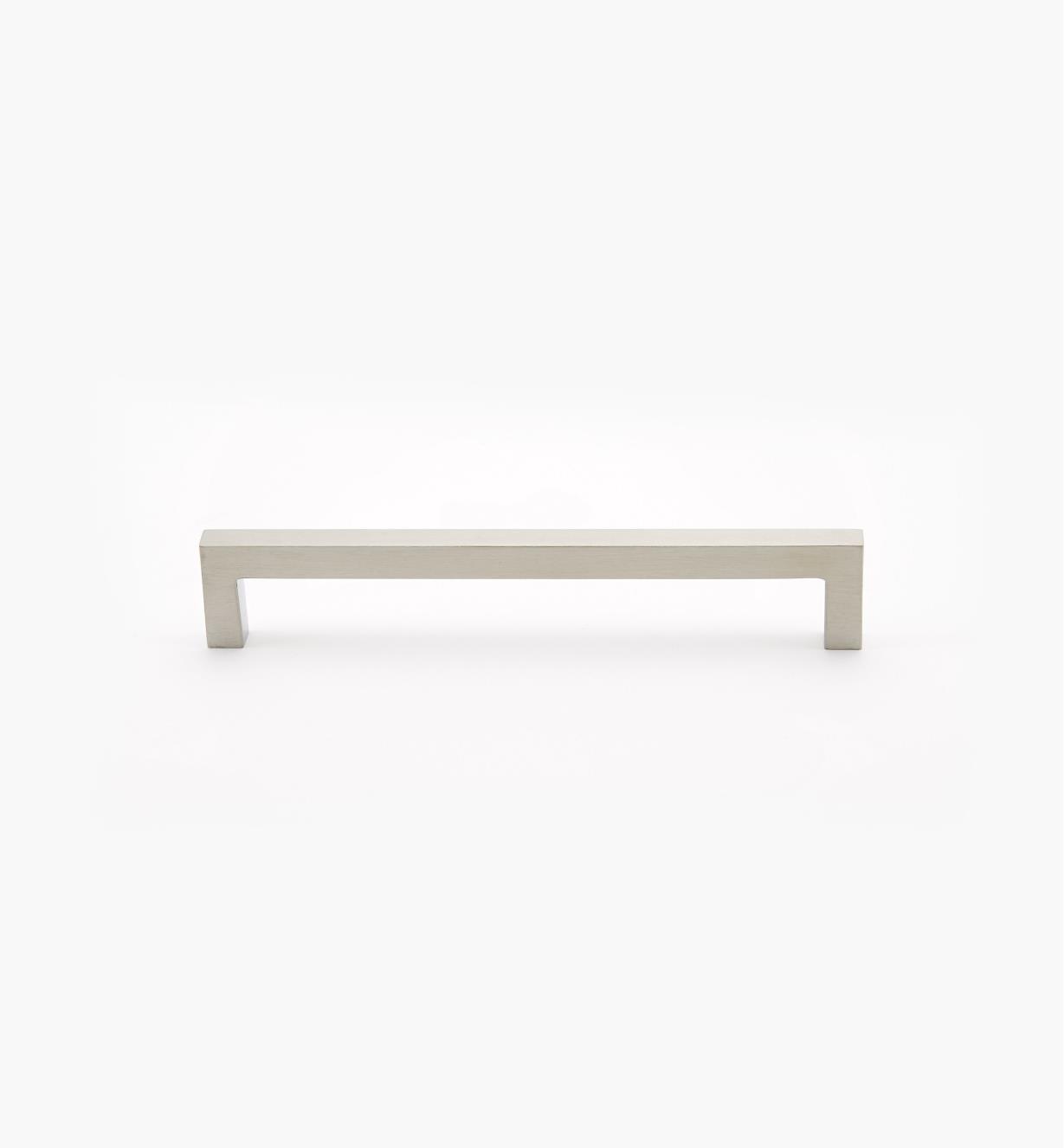 01W8413 - Poignée carrée en acier inoxydable, 160mm