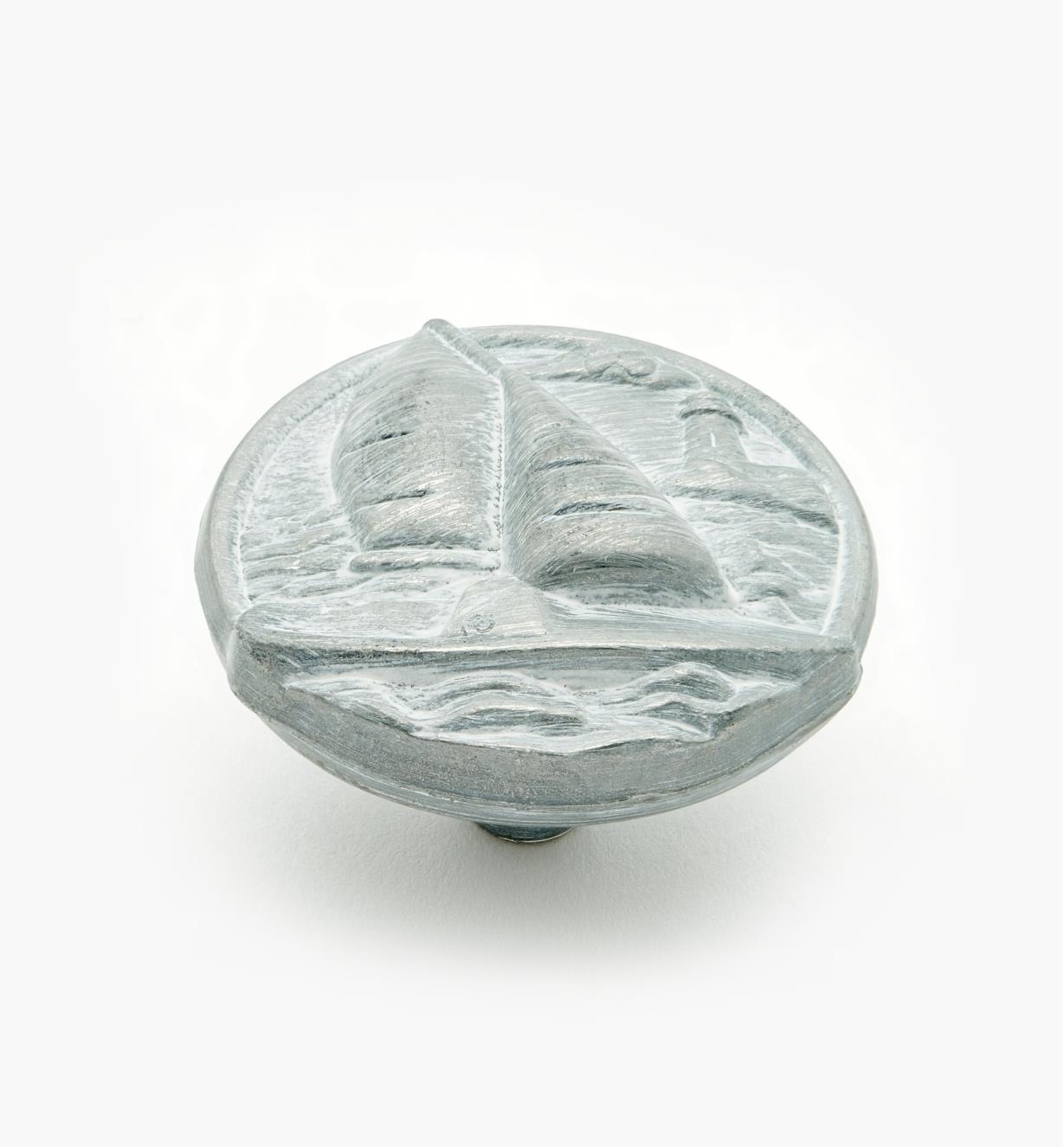 "03W2808 - South Seas 1 1/2"" Sailboat Knob, ea."