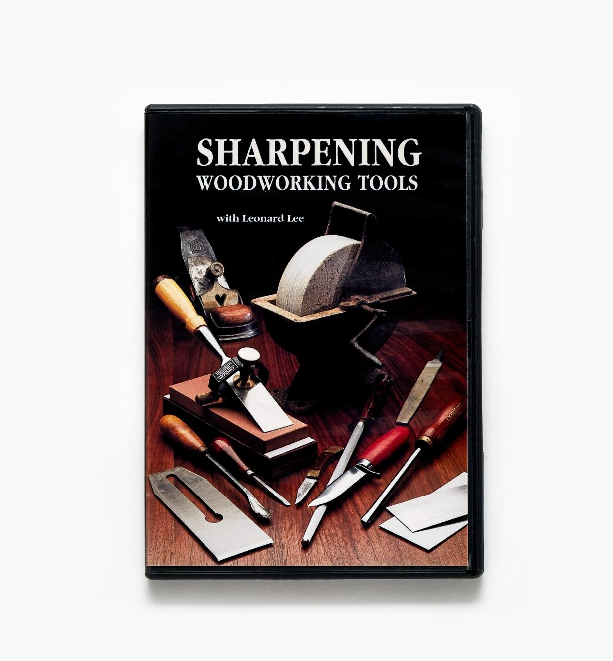 50L0102 - Sharpening Woodworking Tools - DVD