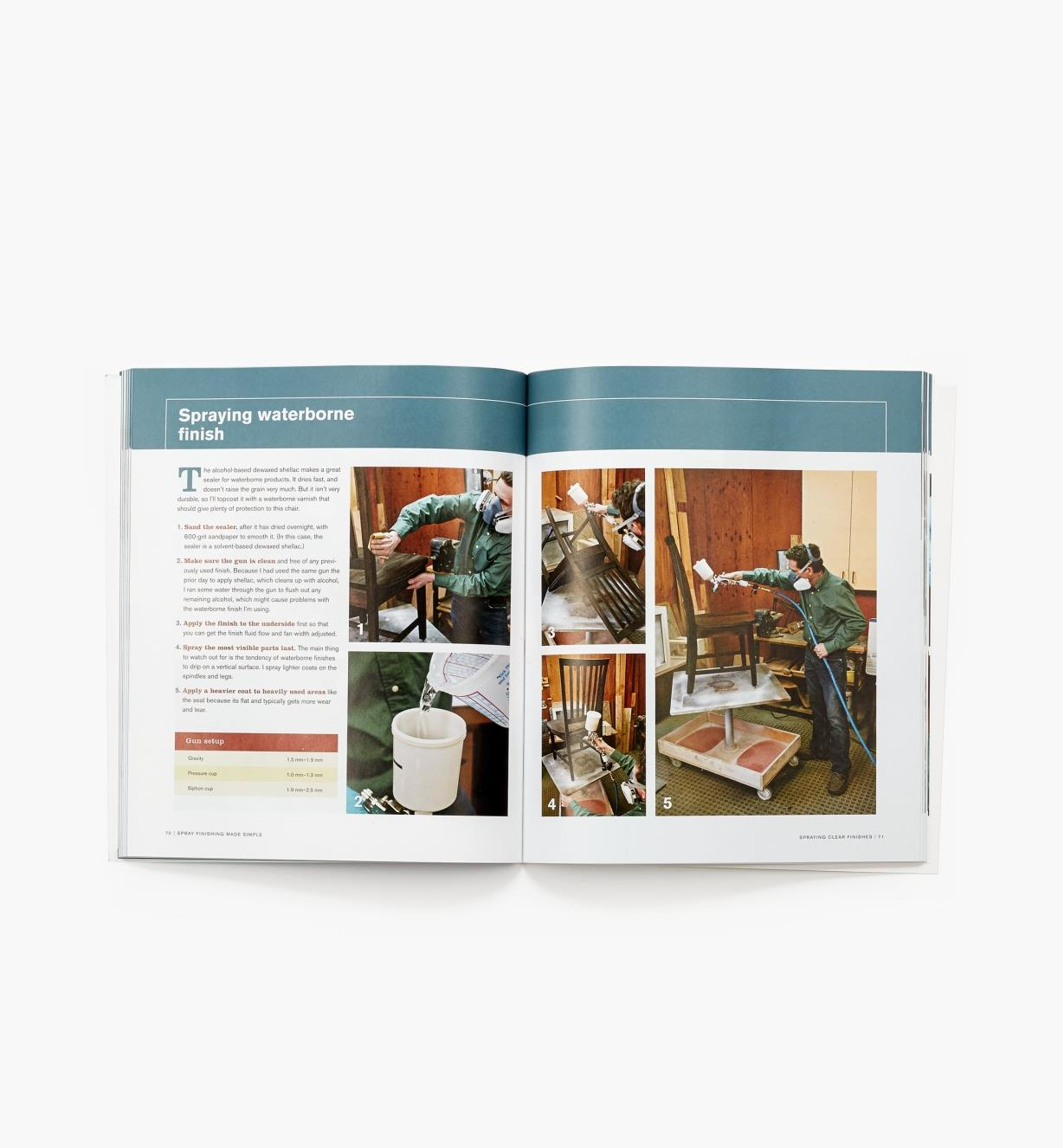 73L0496 - Spray Finishing Made Simple — Book & DVD Set