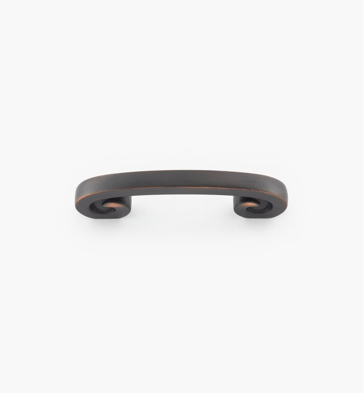 "02A1740 - 3"" Swirl'z Oil-Rubbed Bronze Handle"