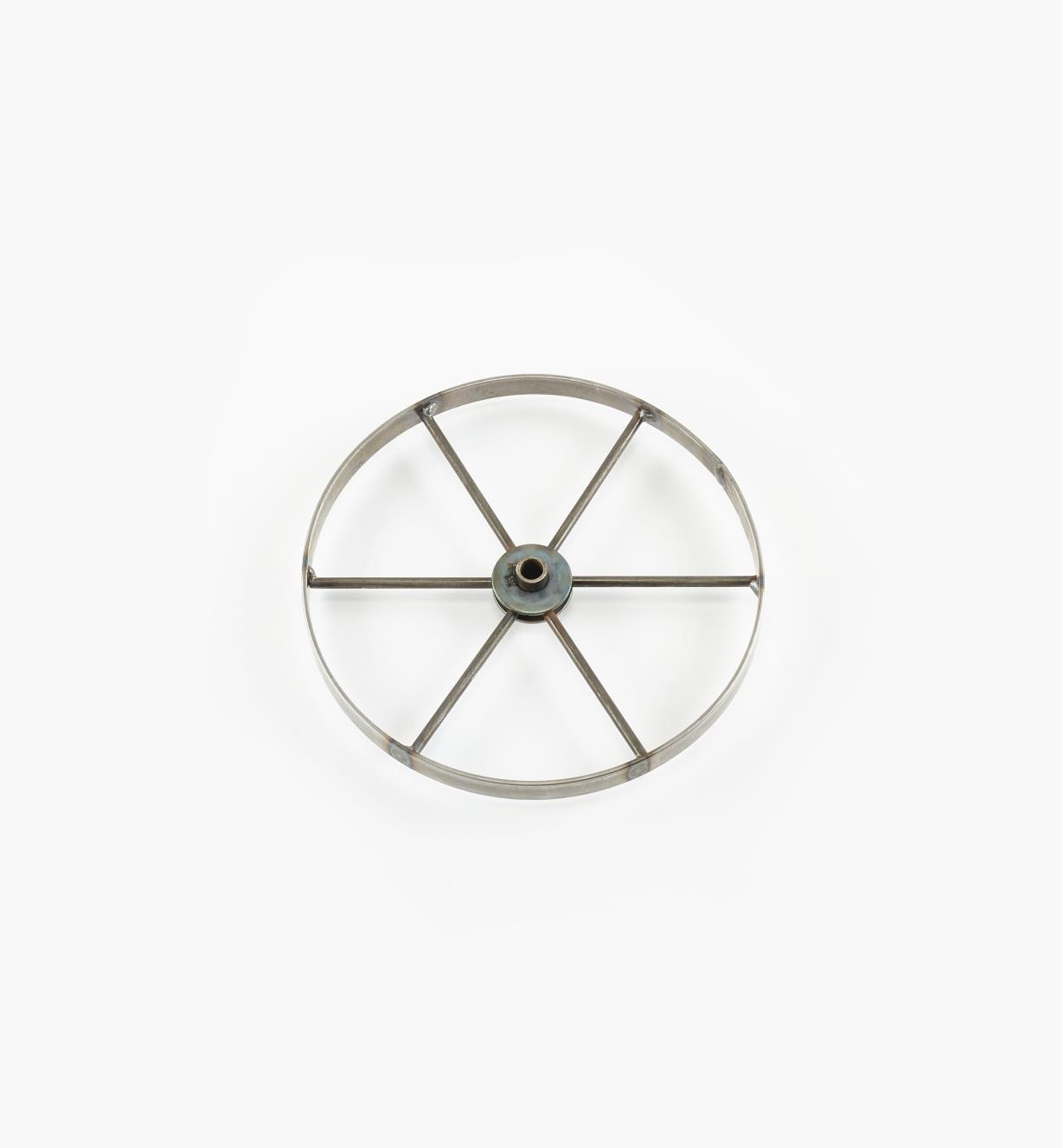 """03K6510 - 10"""" x  3/4"""" 6-Spoke Wheel, ea."""