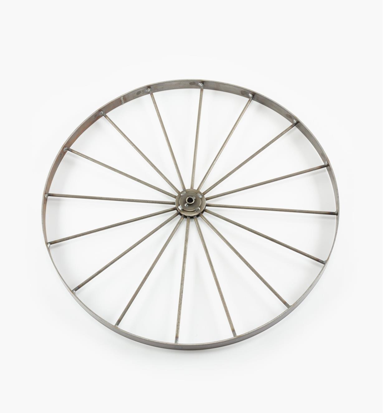 """03K6524 - 24"""" x 1 1/4"""" 16-Spoke Wheel, ea."""