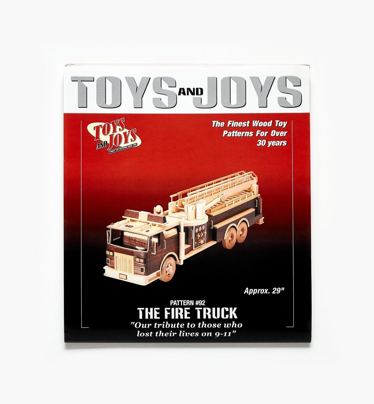 26L1014 - Fire Truck Plan