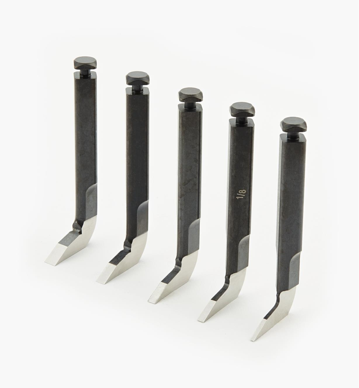 05P3843 - Set of 5 Metric Blades