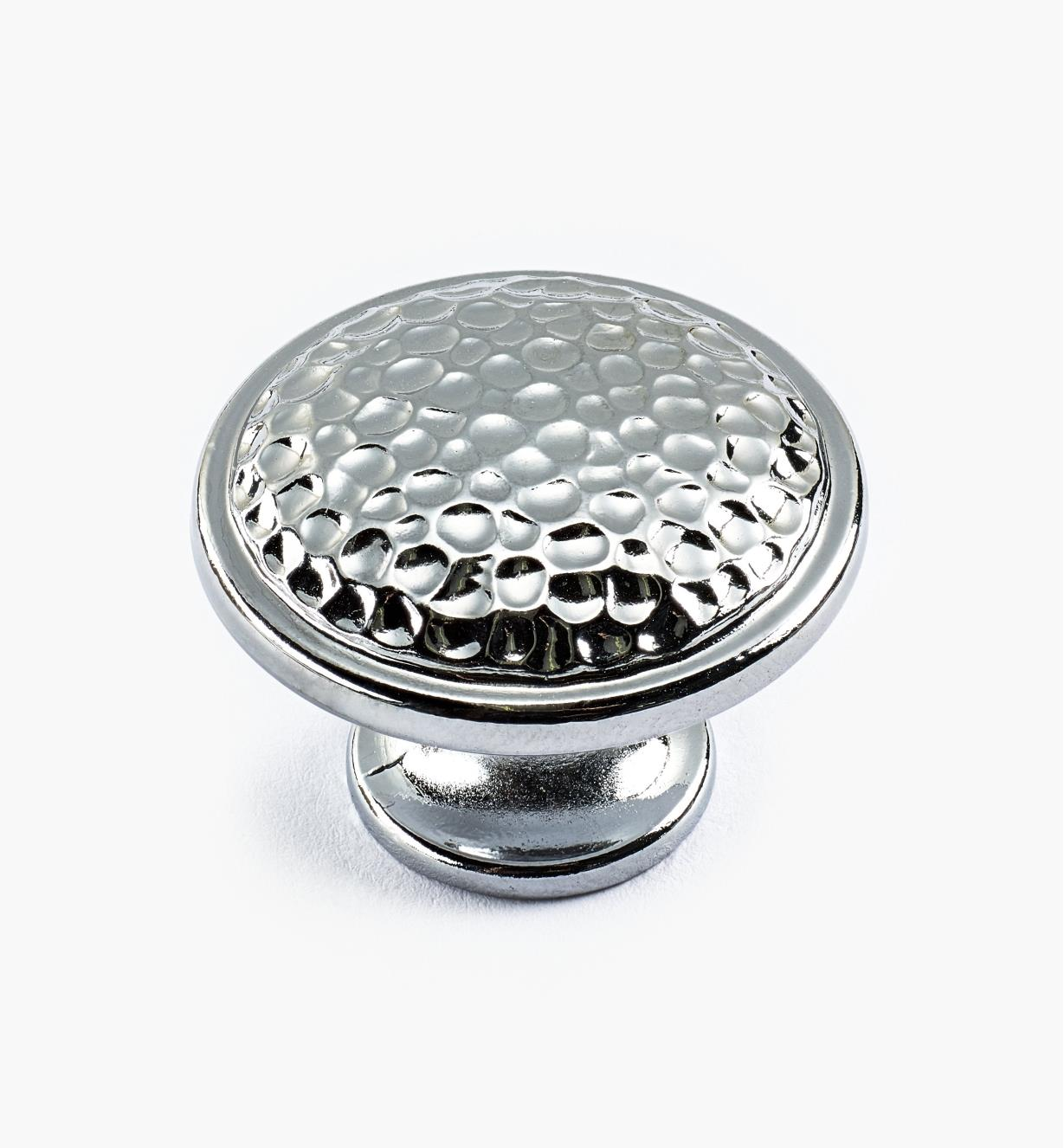 00A7681 - Cobble Suite - 30mm x 22mm Polished Chrome Knob