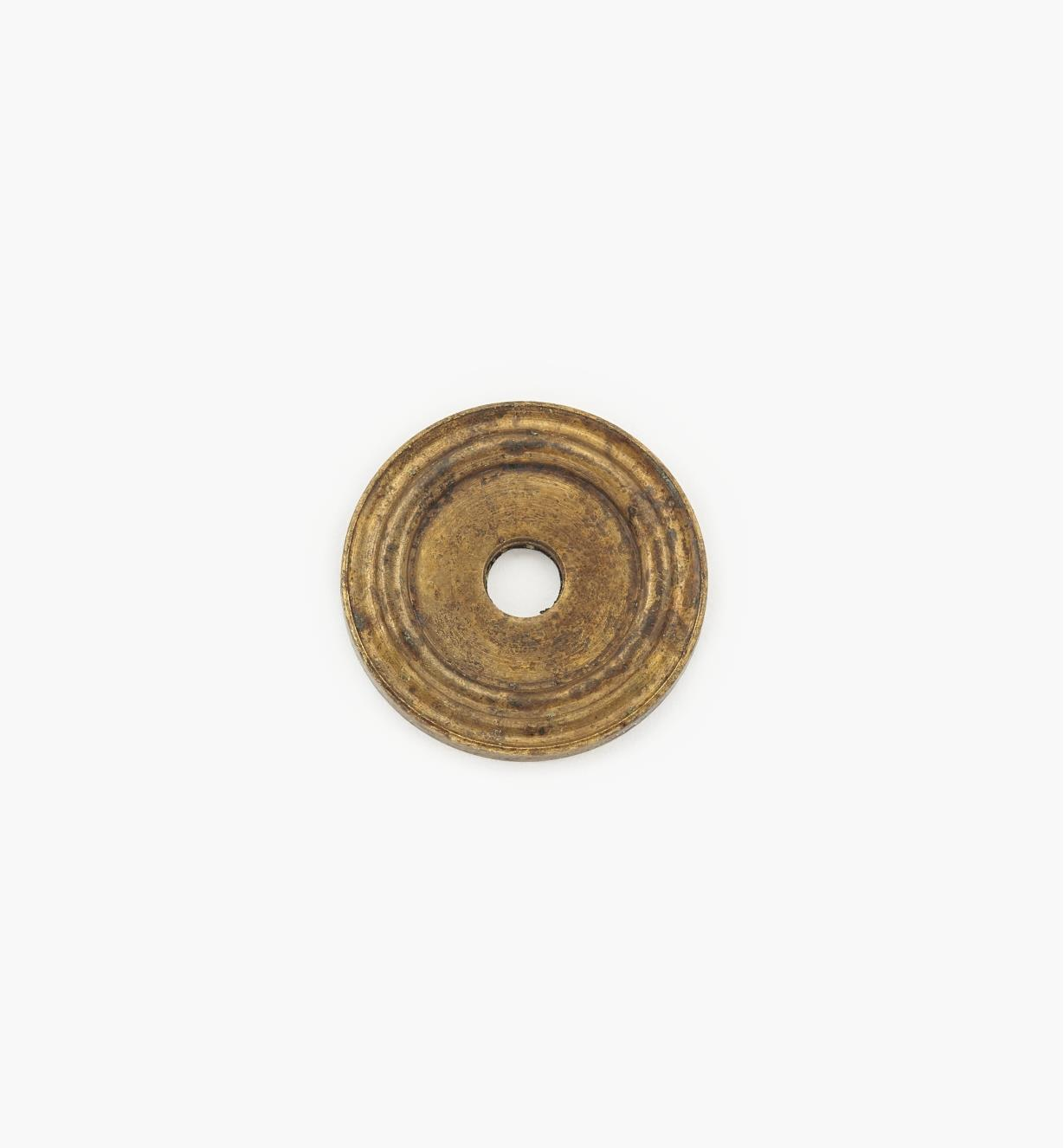 01A0721 - 20mm Old Brass Knob Escutcheon