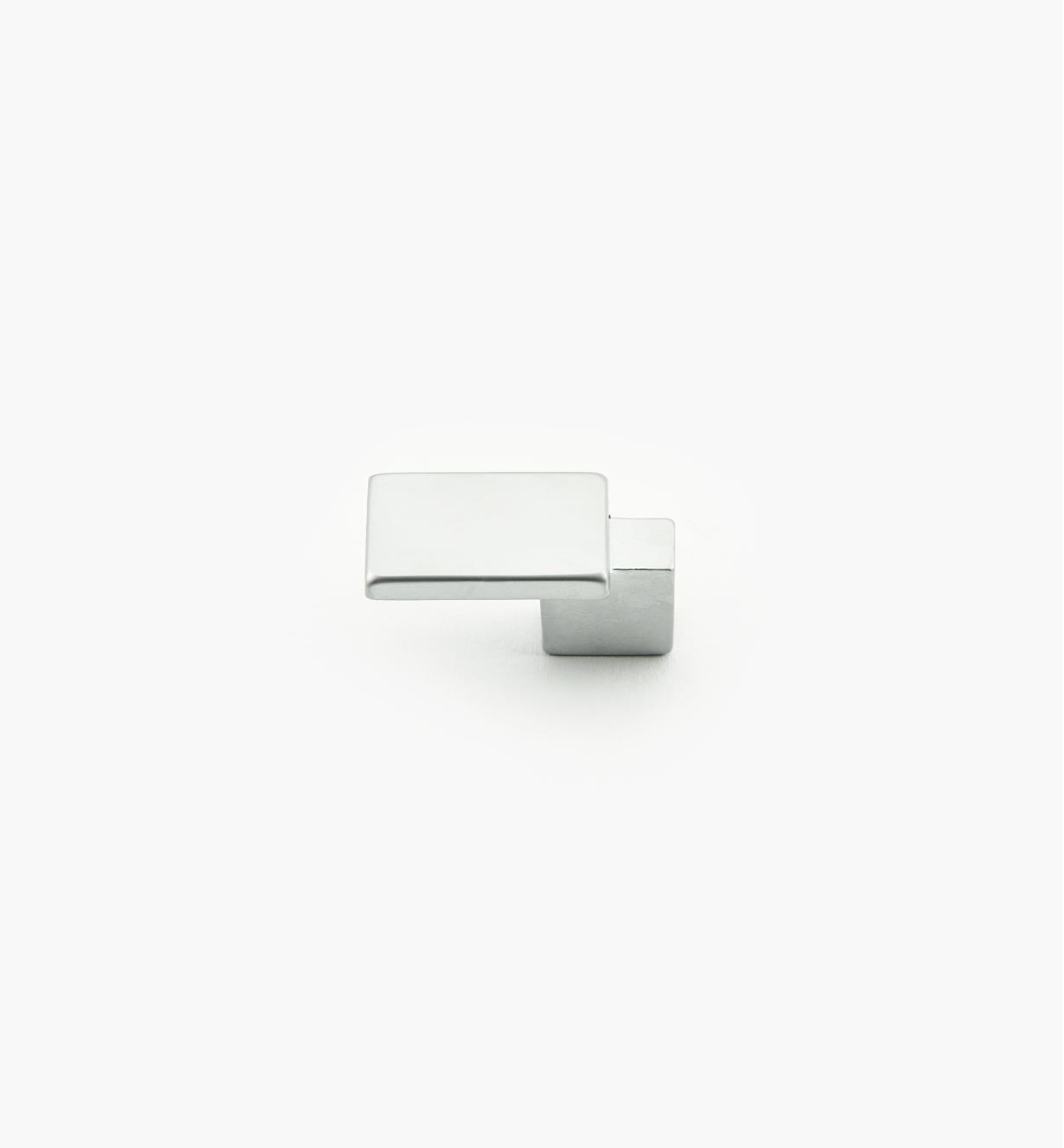 01G1841 - Bridge Hardware - 33mm x 16mm Matte Chrome Knob
