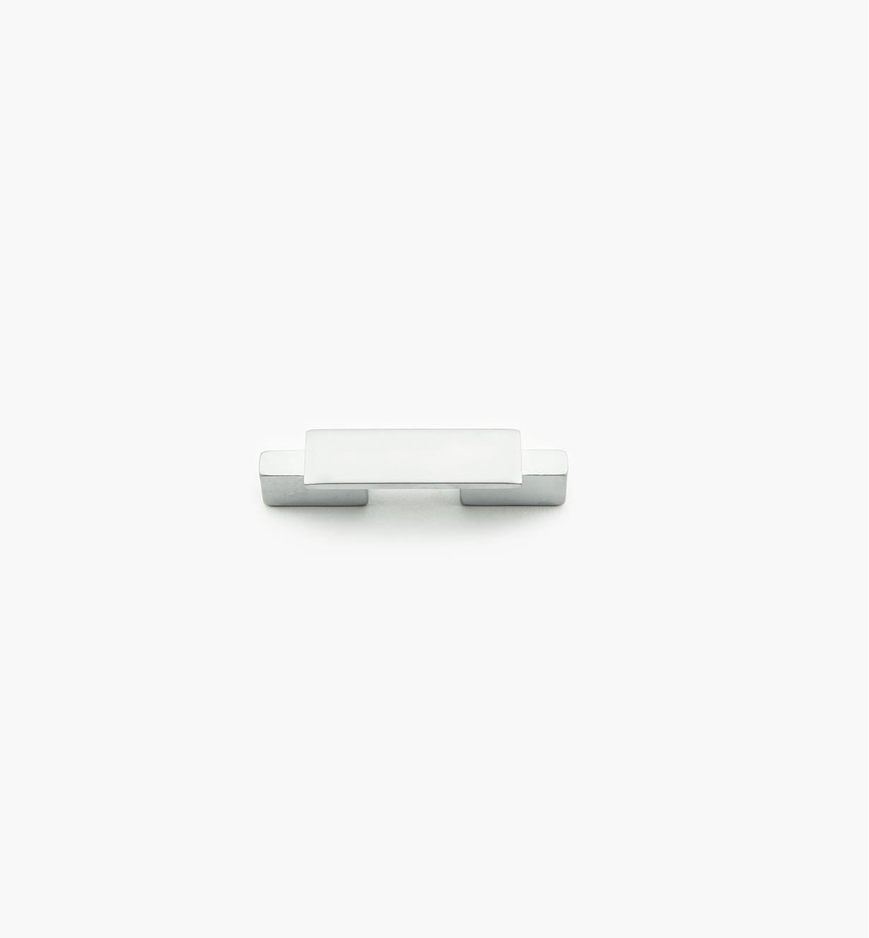 01G1842 - Bridge Hardware - 32mm x 68mm Matte Chrome Handle