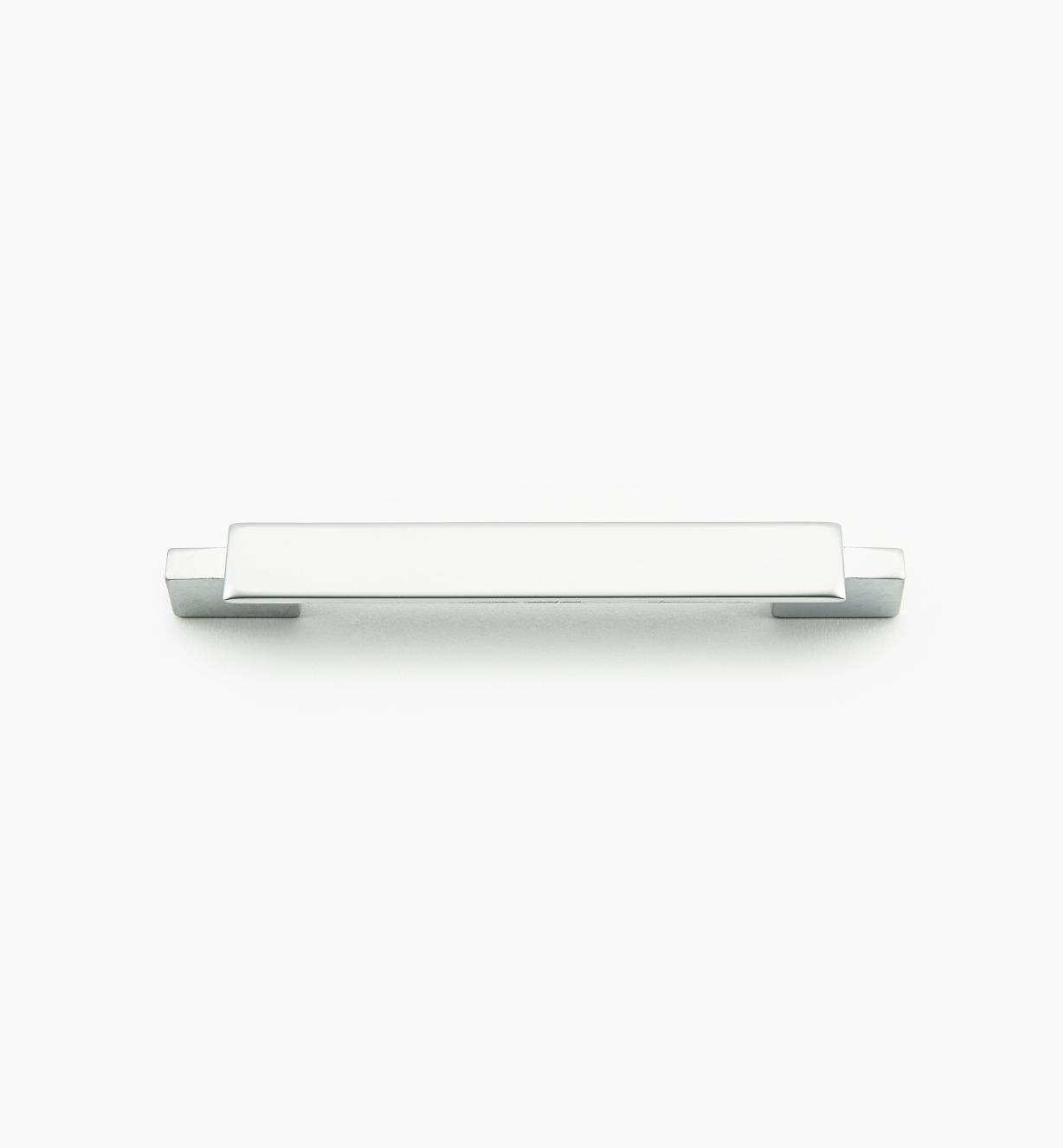 01G1844 - Bridge Hardware - 96mm x 135mm Matte Chrome Handle