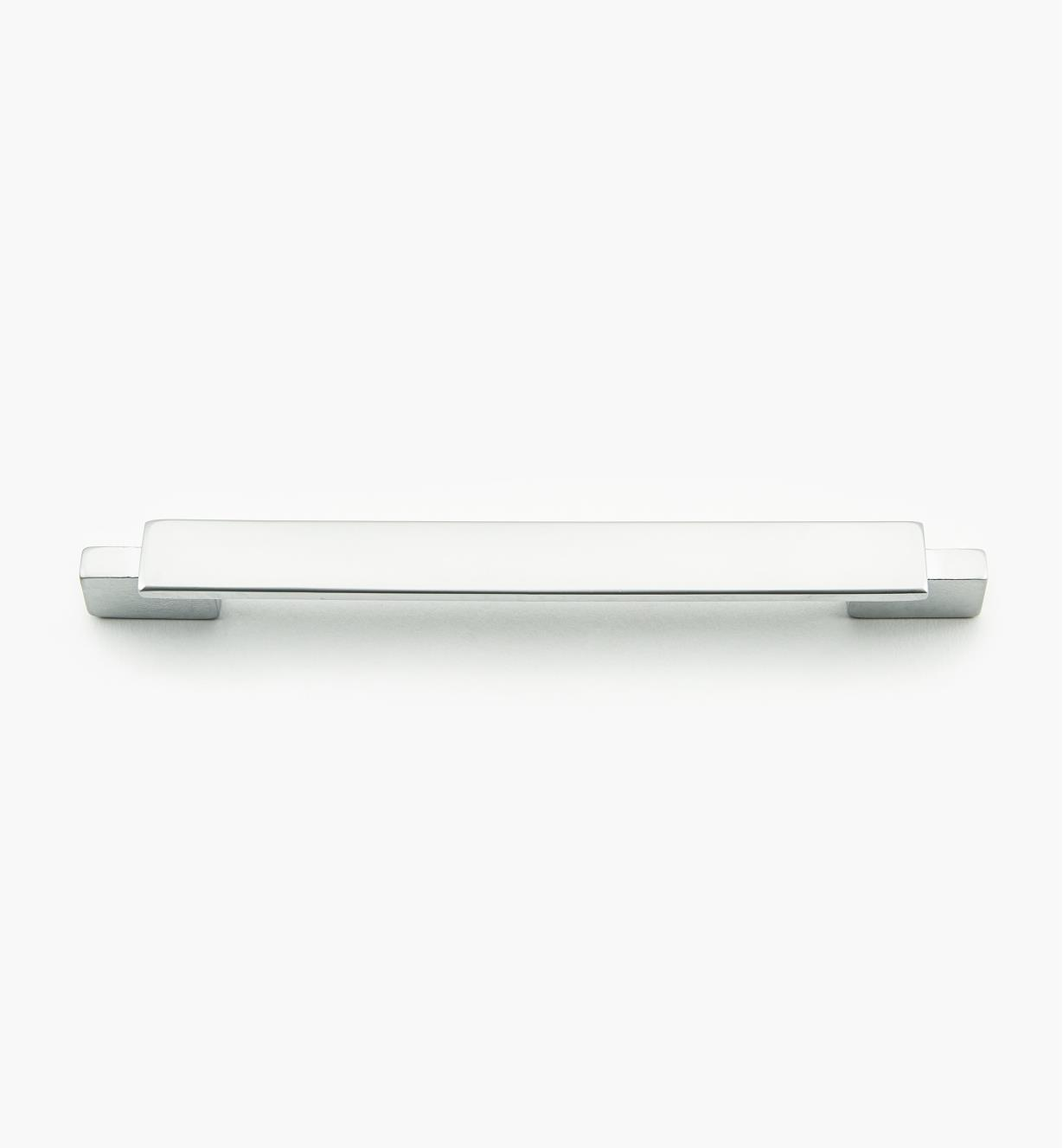 01G1845 - Bridge Hardware - 128mm x 166mm Matte Chrome Handle