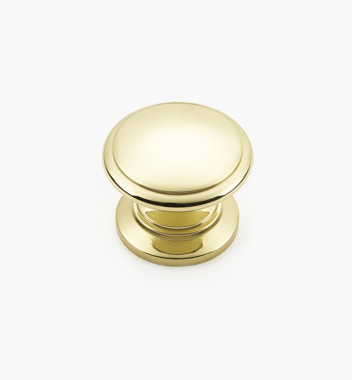 01W1344 - 31mm x 25mm Brass Knob