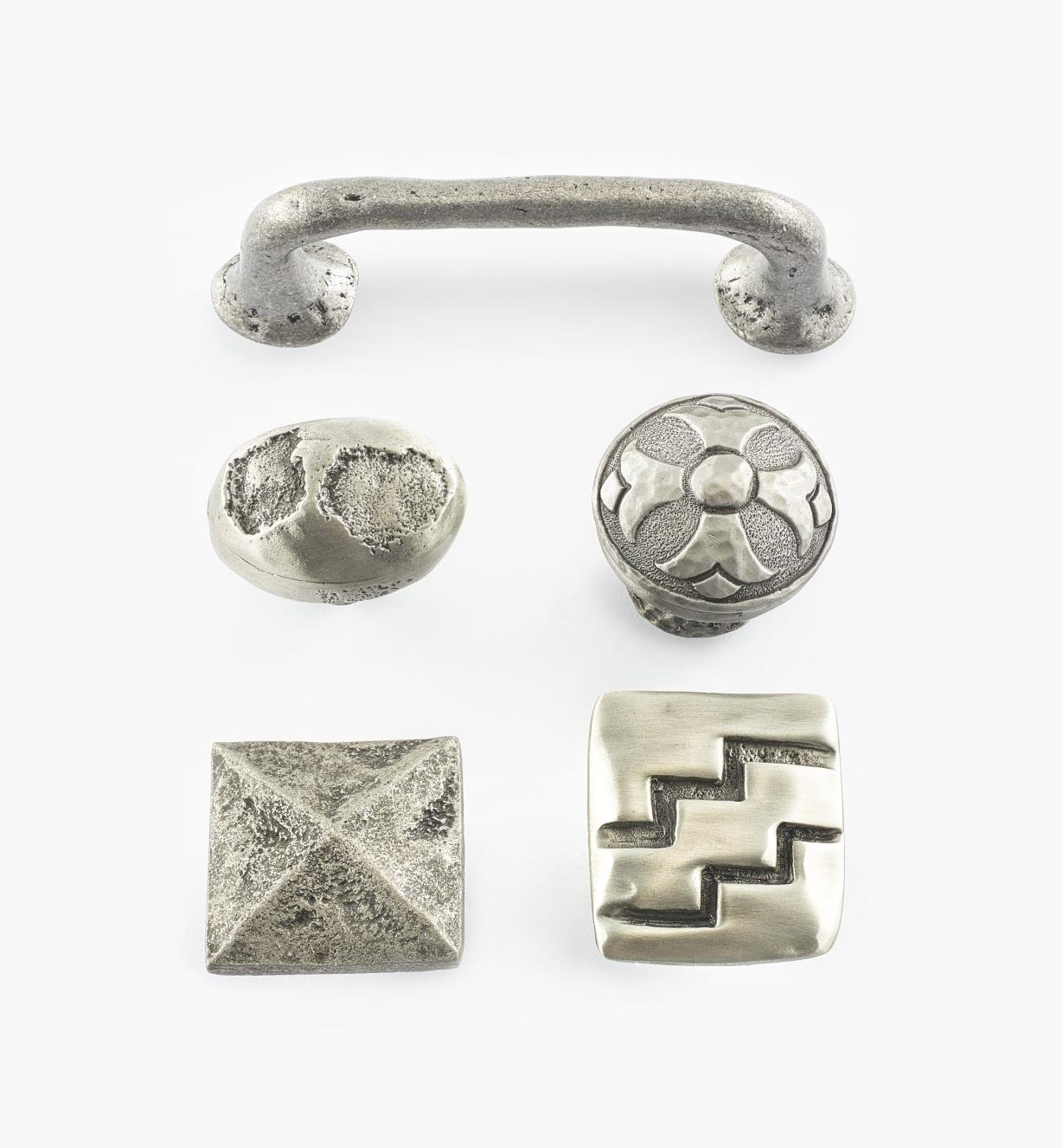 Cast Pewter Hardware