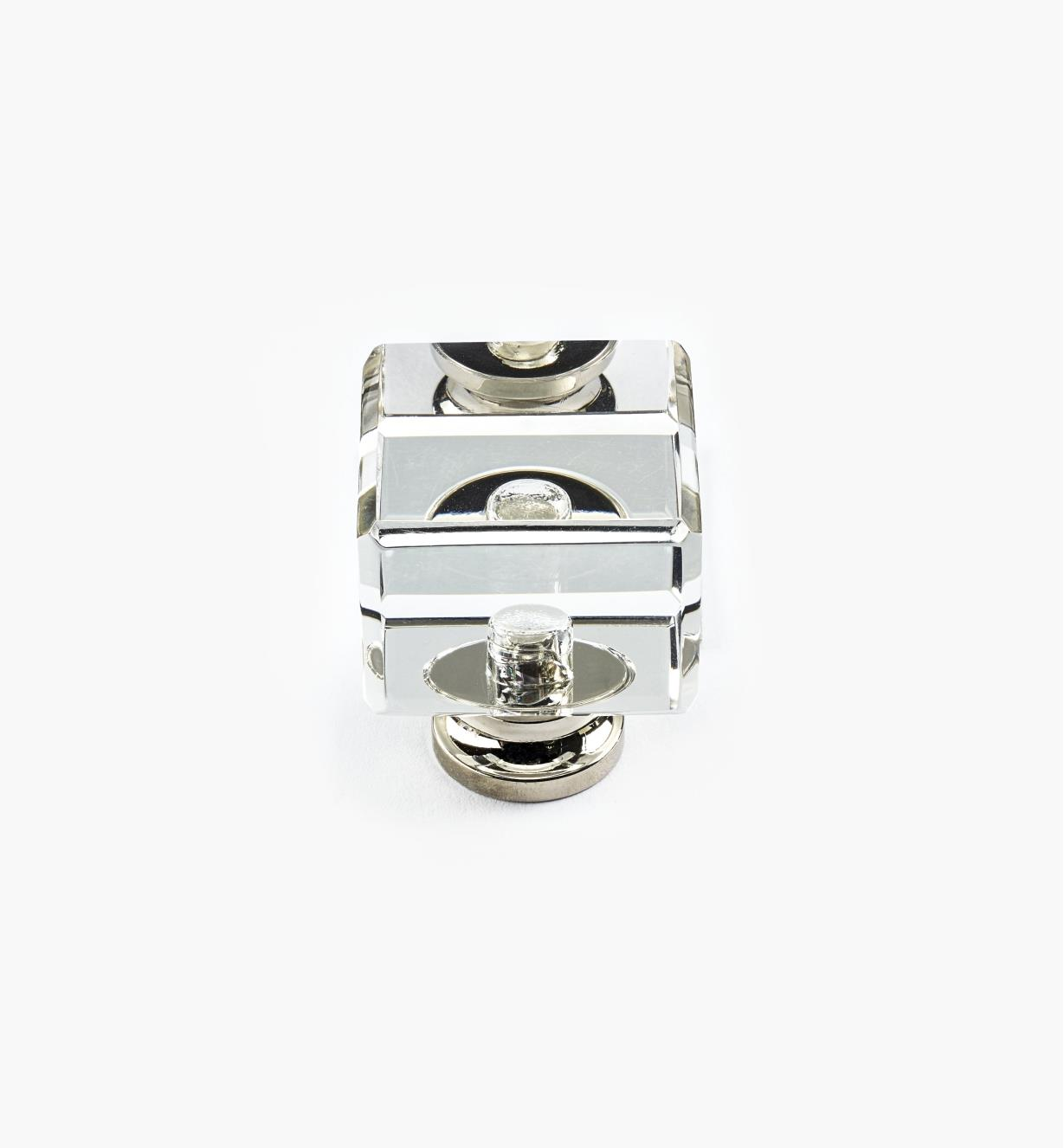 01A3855 - Glass Knob, Cube