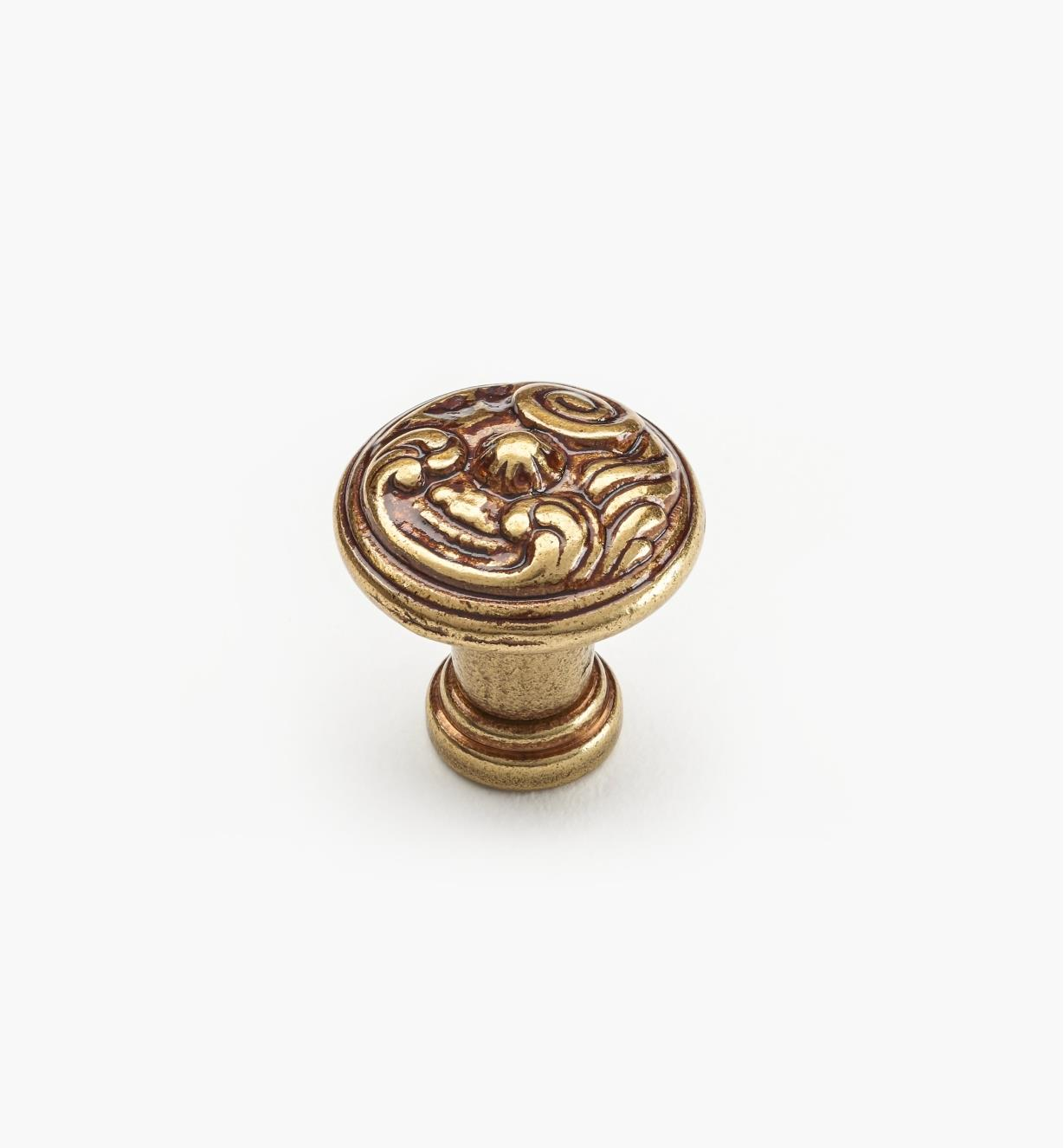 01A5320 - 20mm x 21mm Louis XV Knob