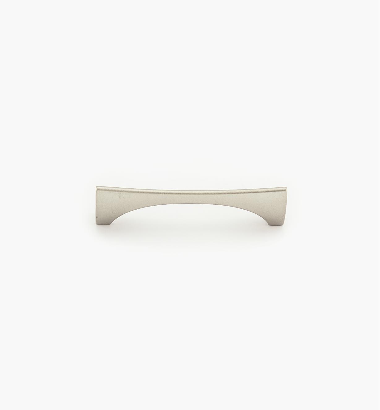 02W3910 - Poignée Niteroi, fini palladium, 96 mm