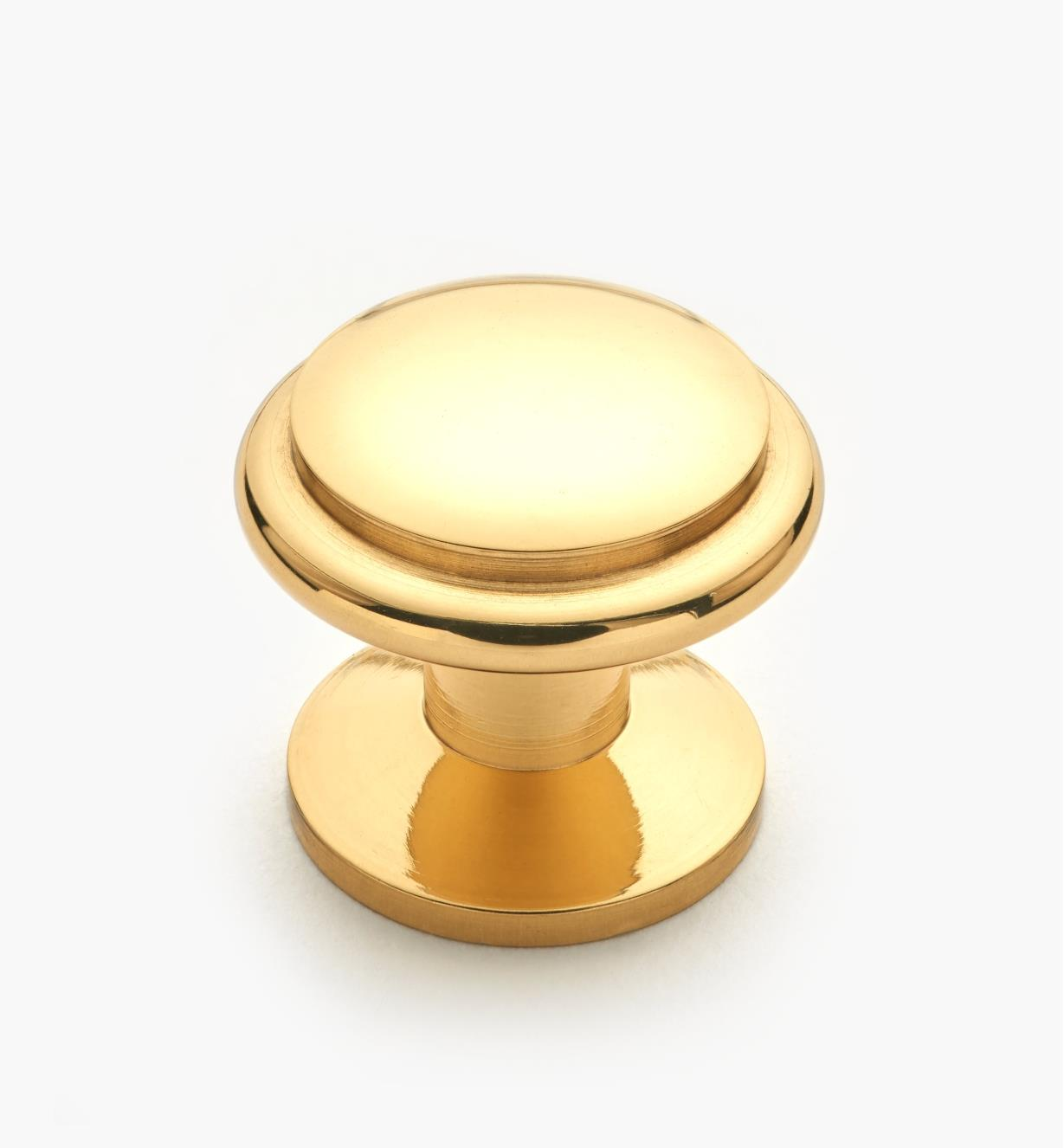 01W1331 - 20mm x 18mm Small Brass Knob